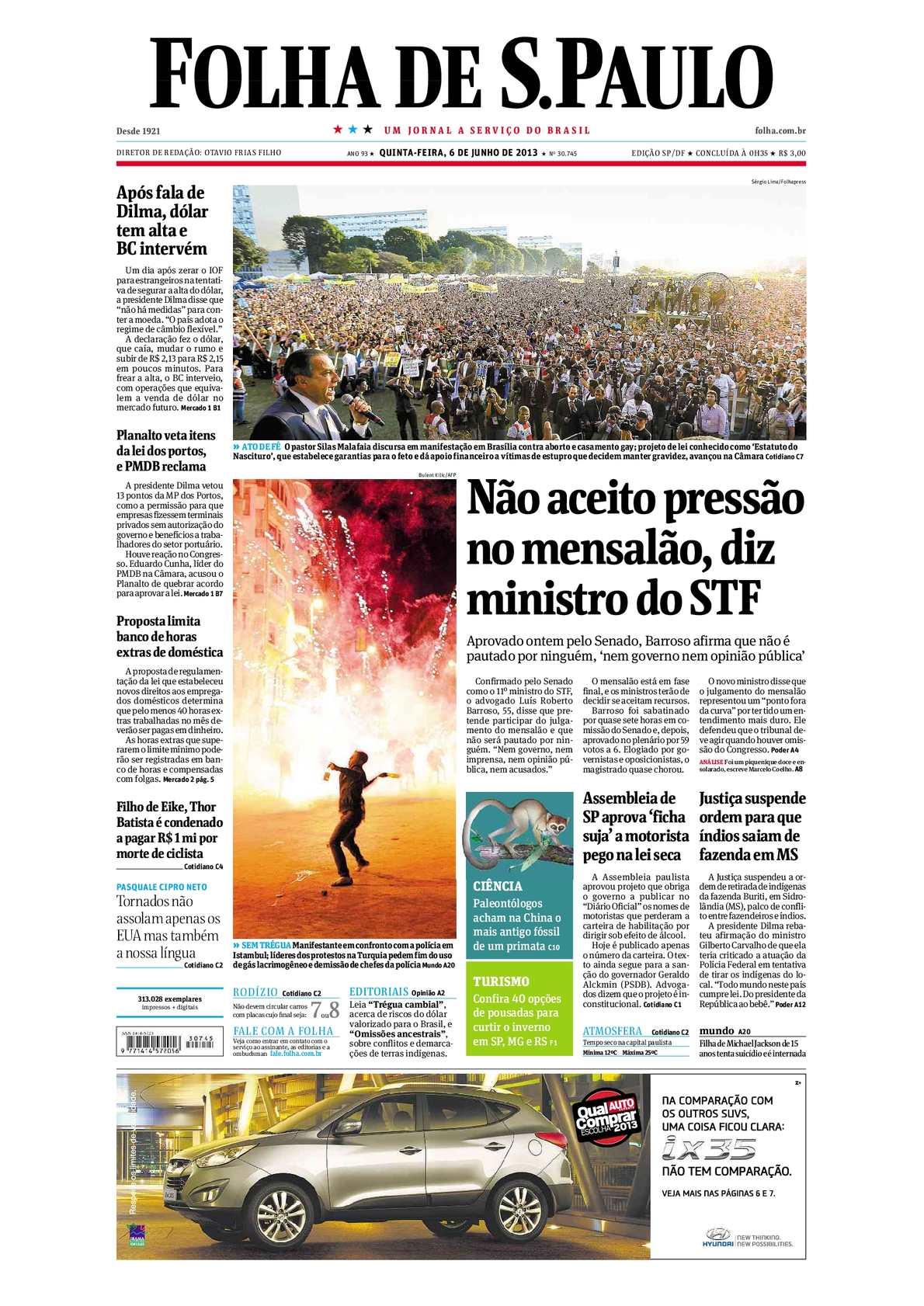444cba4b99486 Calaméo - Folha de São Paulo 06-06-13