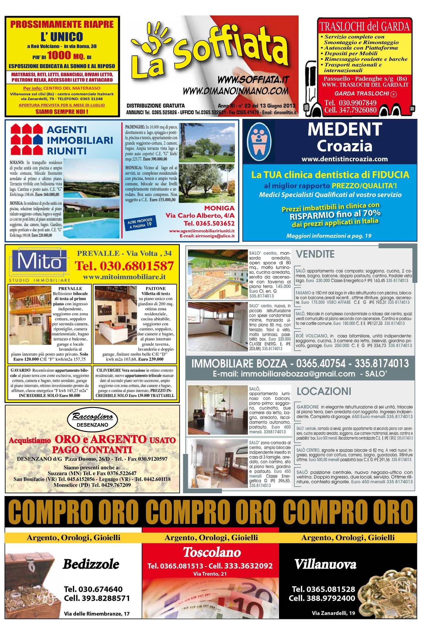 Calaméo - La soffiata 13 06 2013 42ece2bb2f6