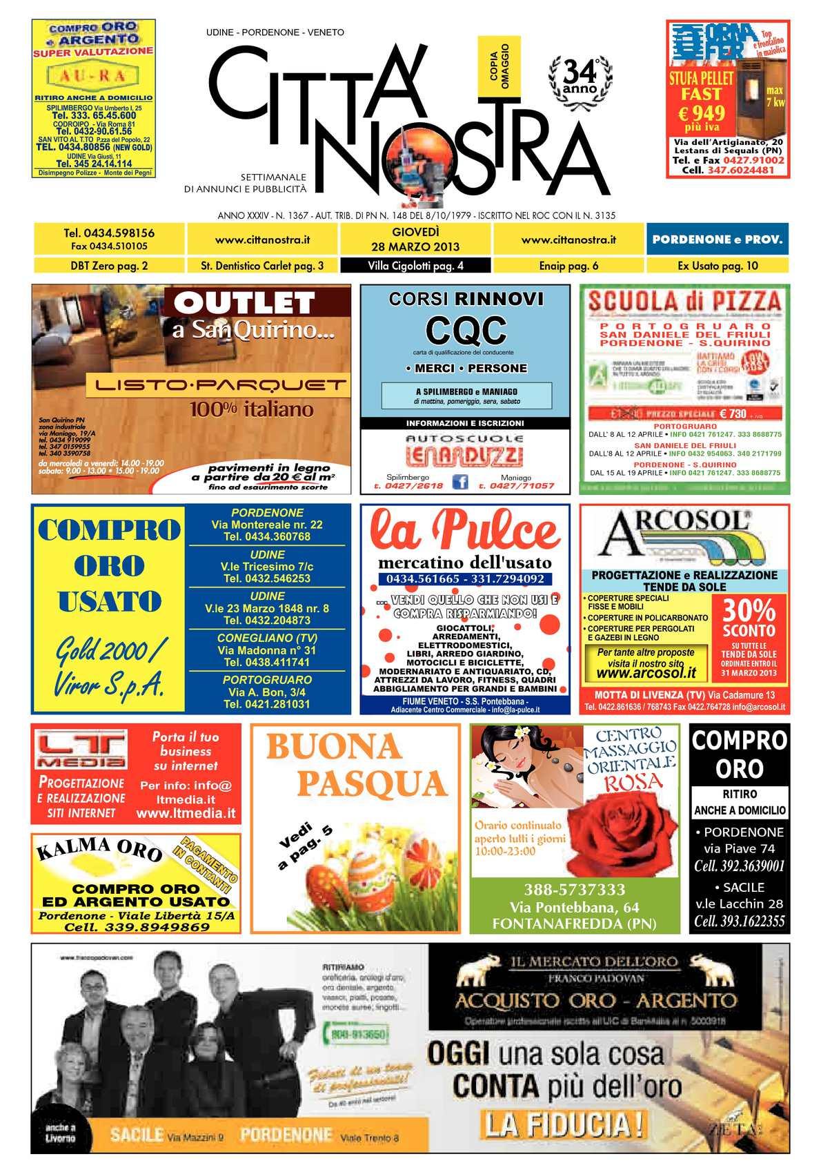 low cost 4b6a9 09271 Calaméo - Città Nostra Pordenone del 28.03.2013 n. 1367