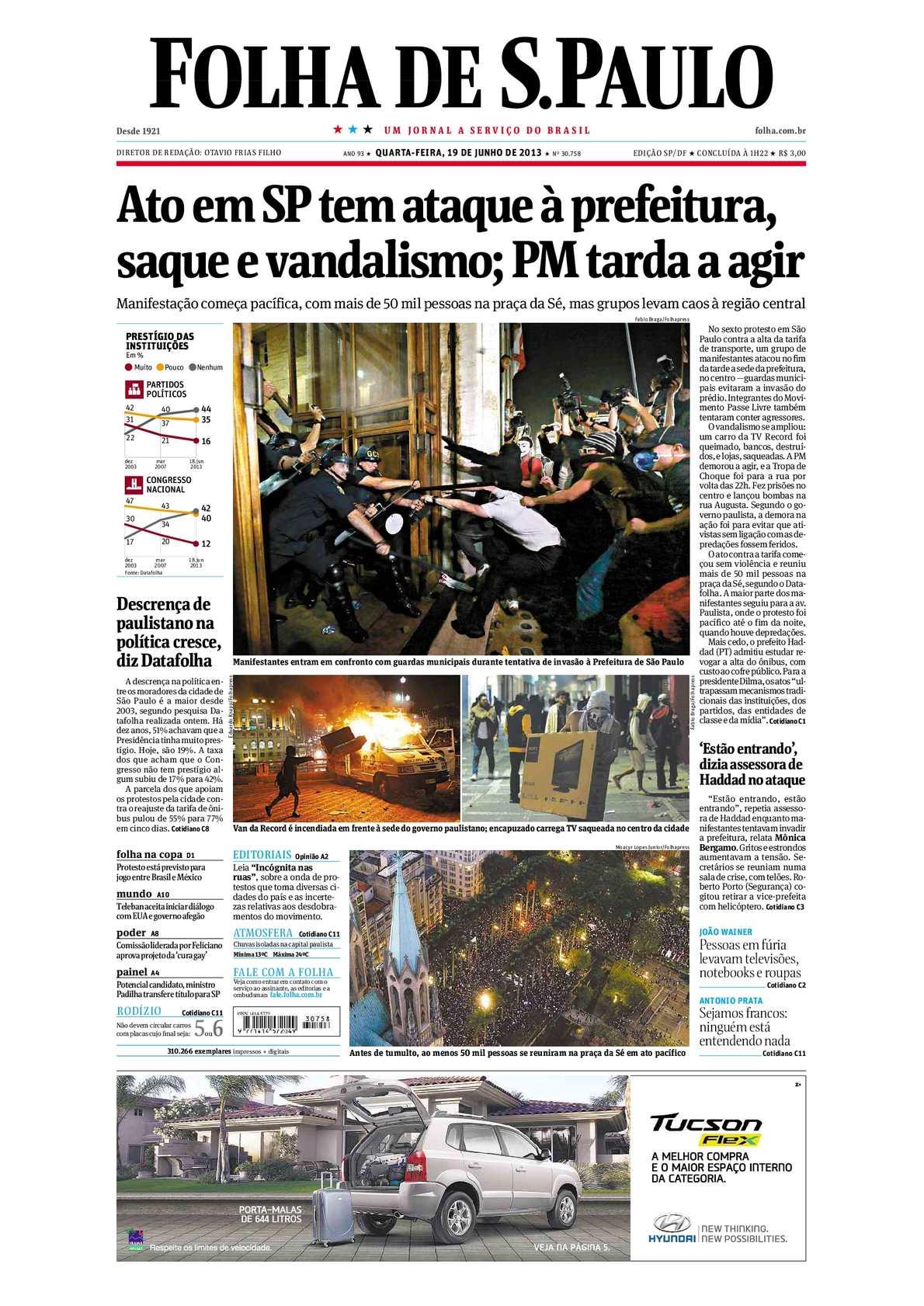 22bc8a610e Calaméo - Folha de São Paulo 19-06-2013