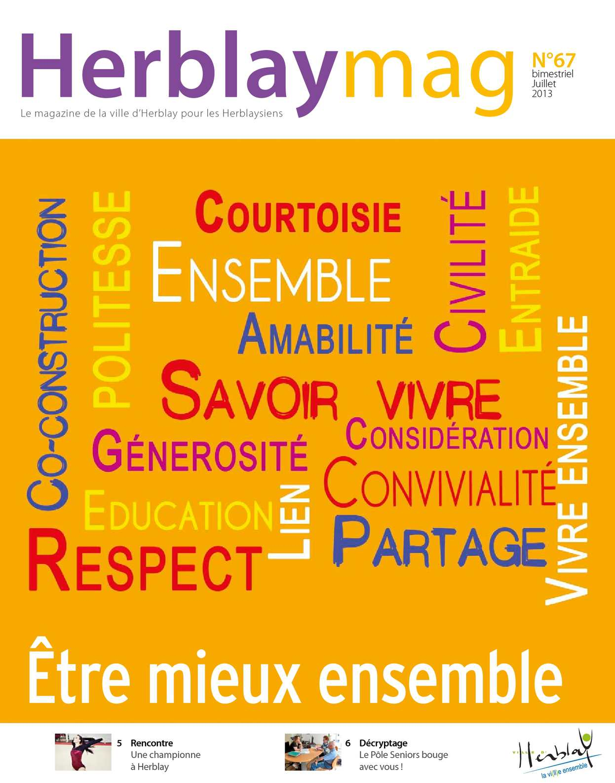 Calaméo Herblay Mag N67 Juillet 2013