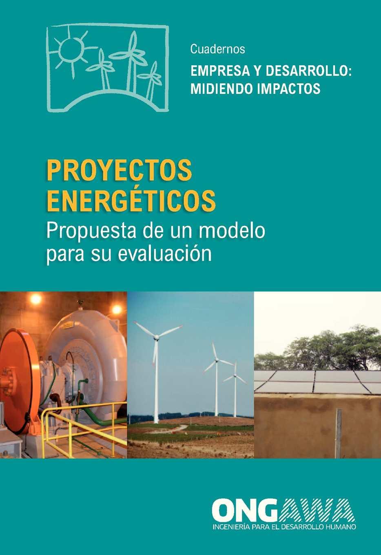 Proyectos energéticos: propuesta de un modelo para su evaluación