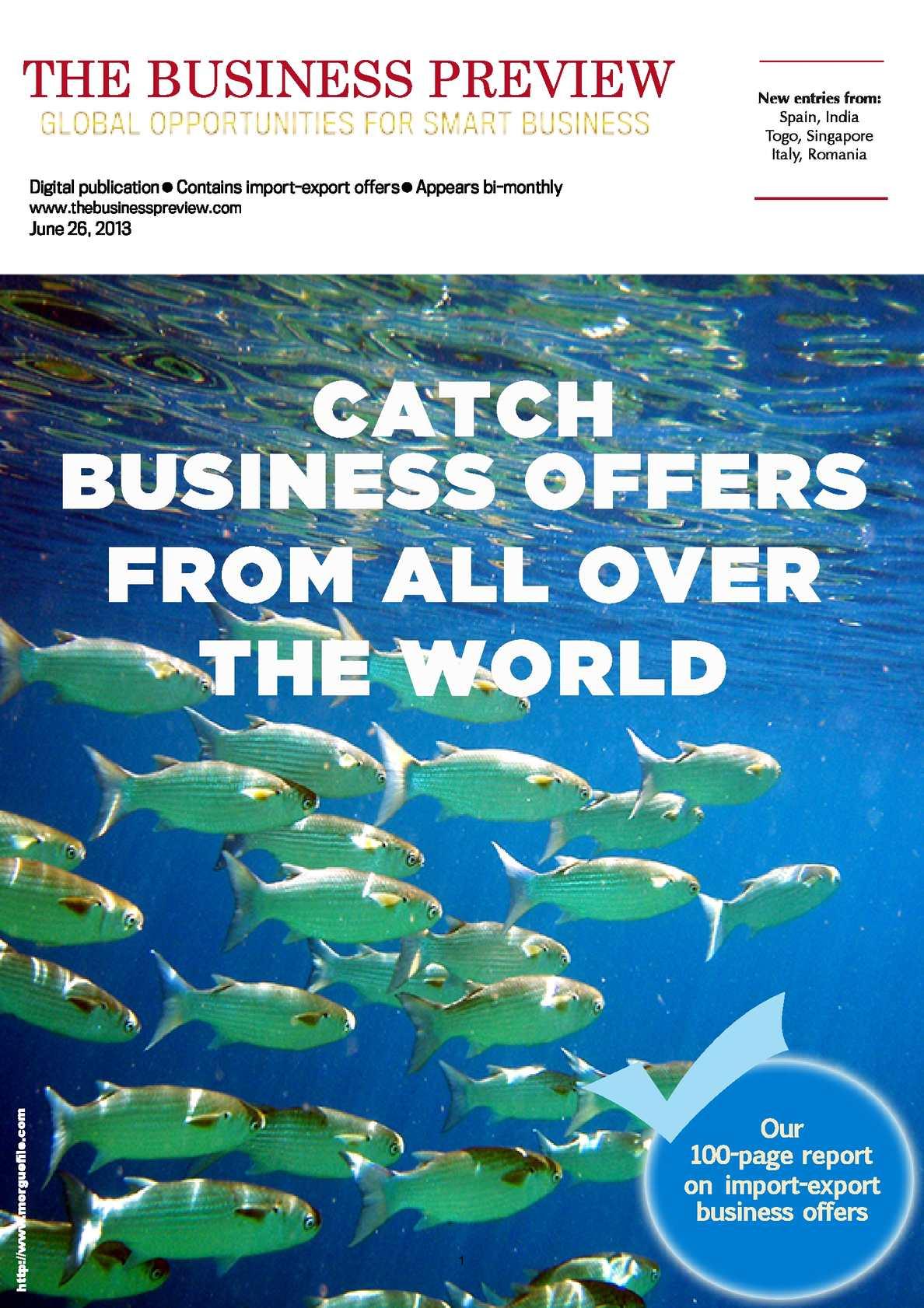 Calaméo - The Business Previe_No 33