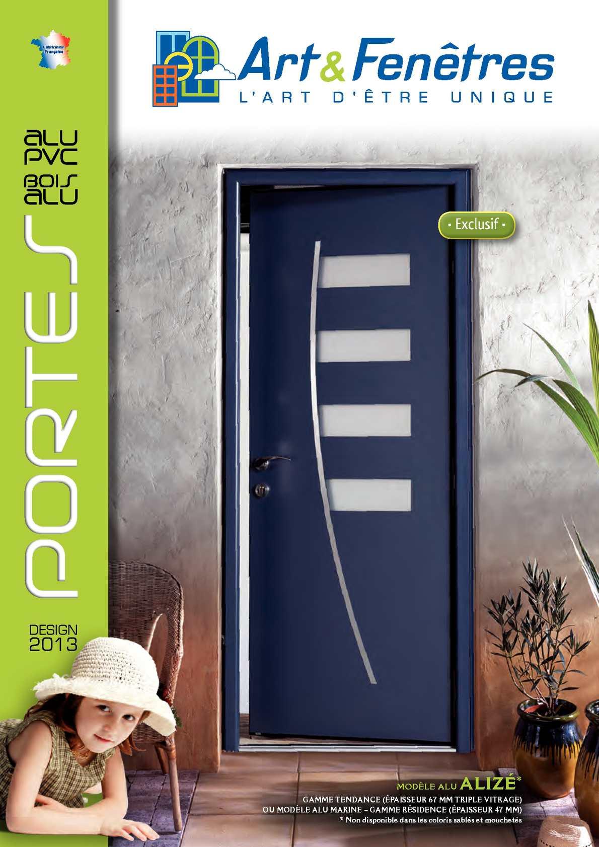 calam o art et fenetre catalogue portes 2013. Black Bedroom Furniture Sets. Home Design Ideas