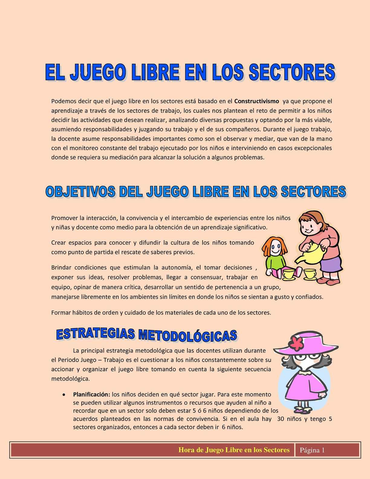 Calameo Hora De Juego Libre En Los Sectores