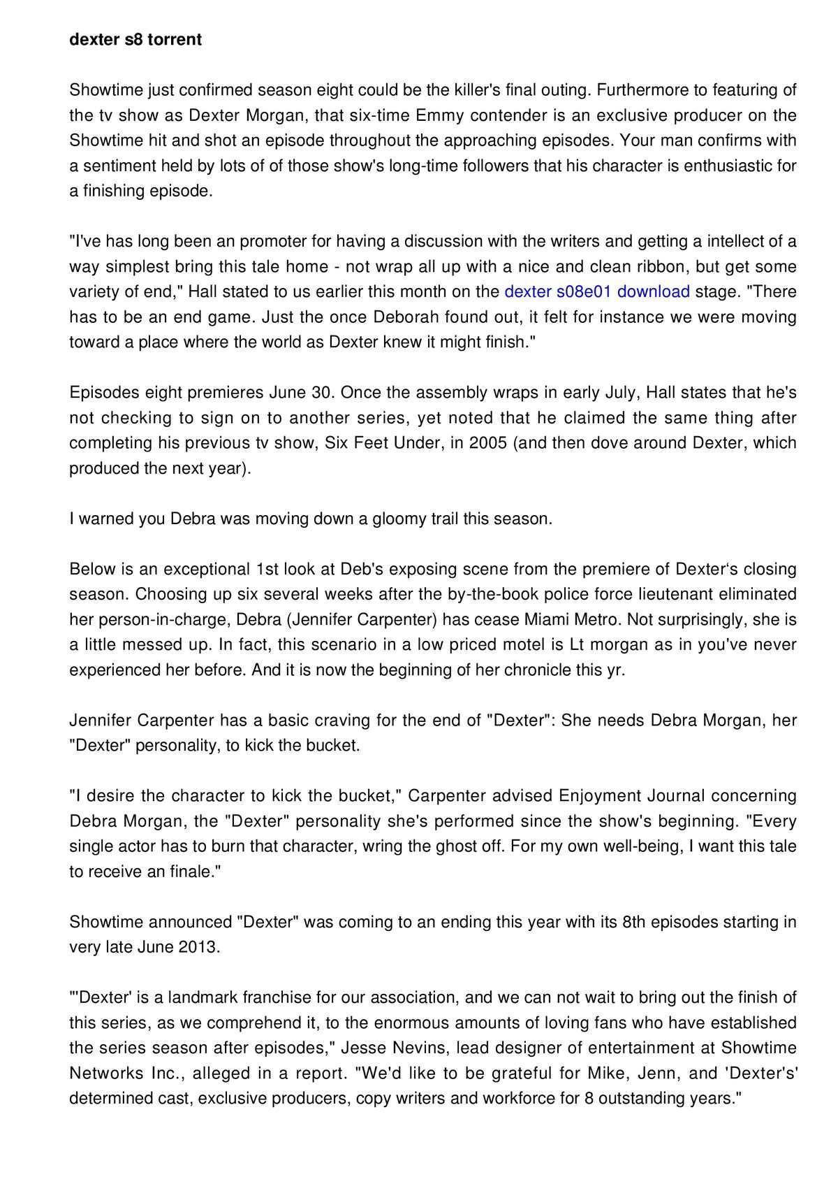 Calaméo - dexter season 8 online