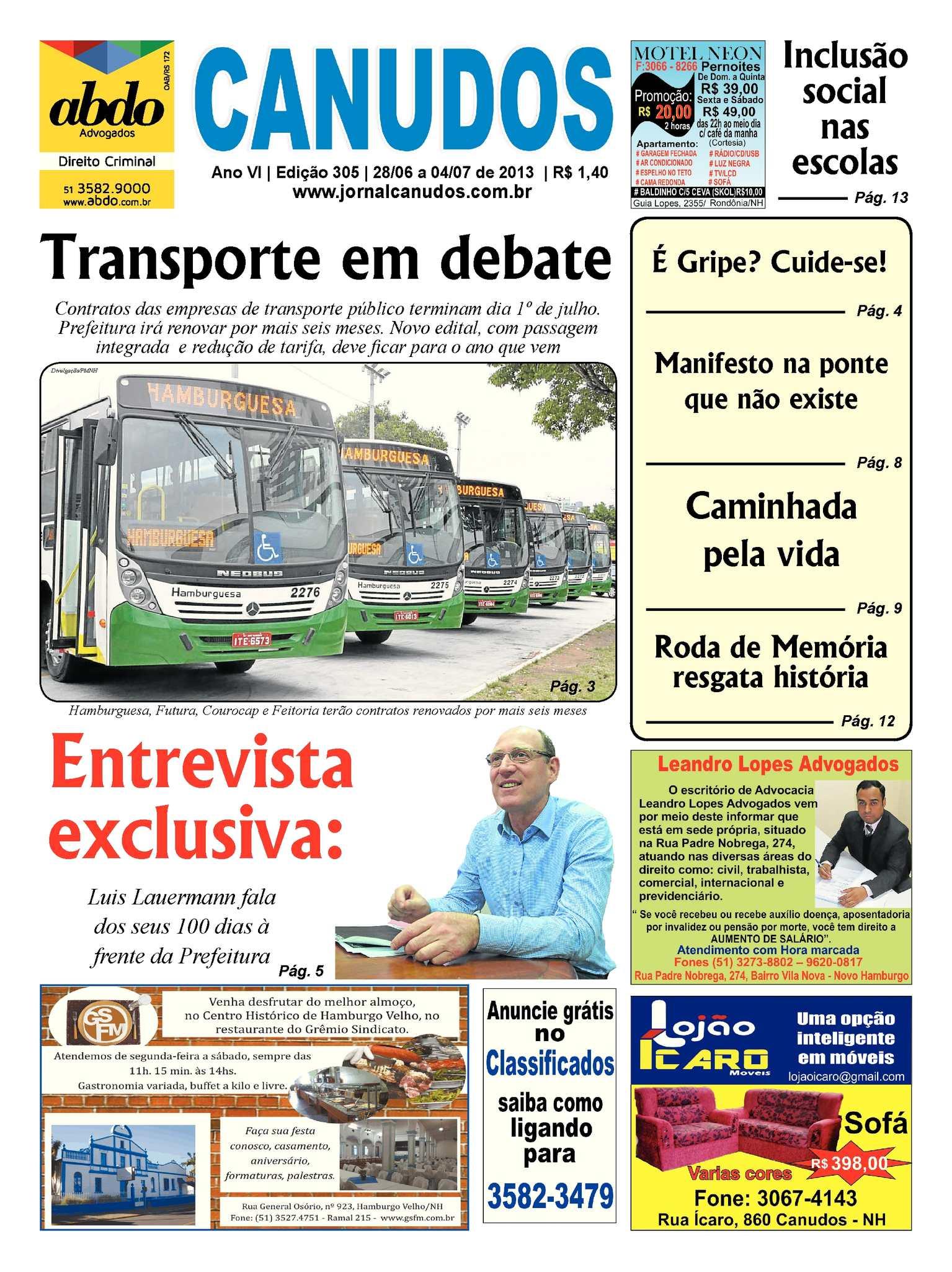 522fdb2569 Calaméo - Jornal Canudos - Edição 305