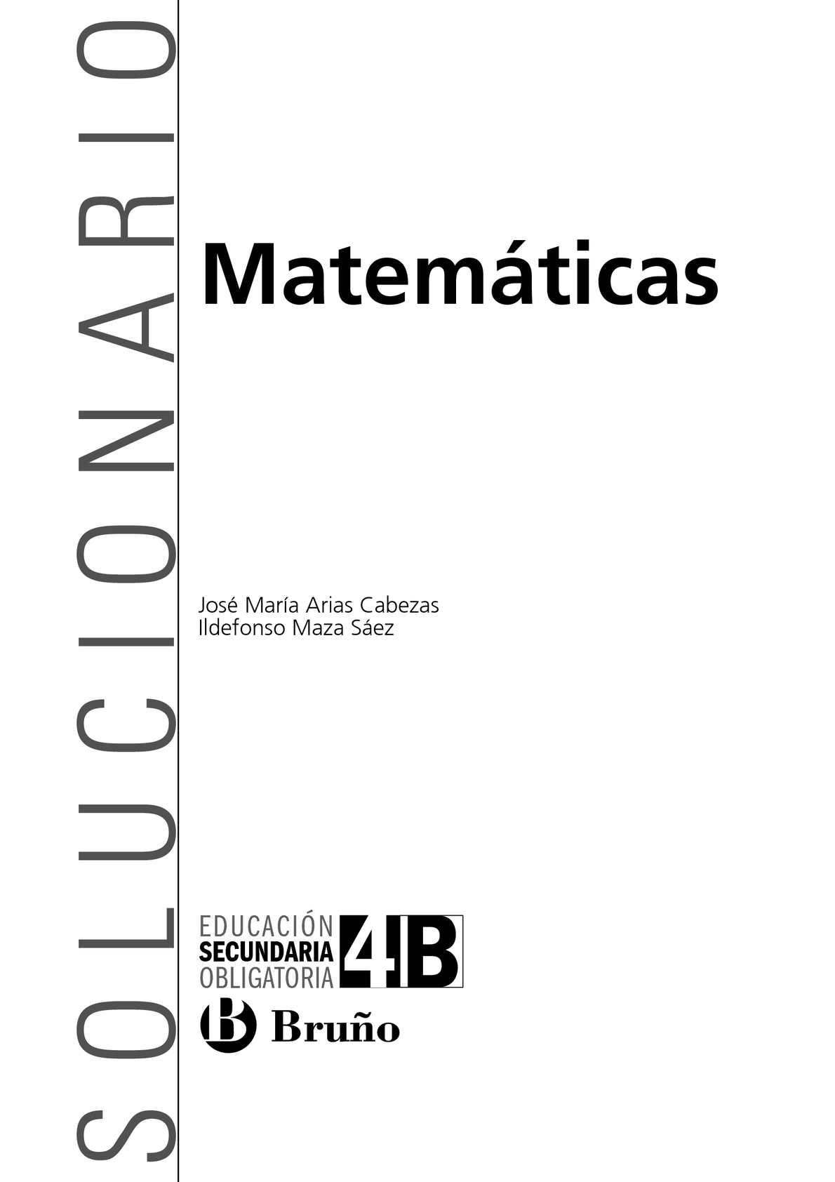 Solucionario Matemáticas Bruño 4-ESO-B - CALAMEO Downloader