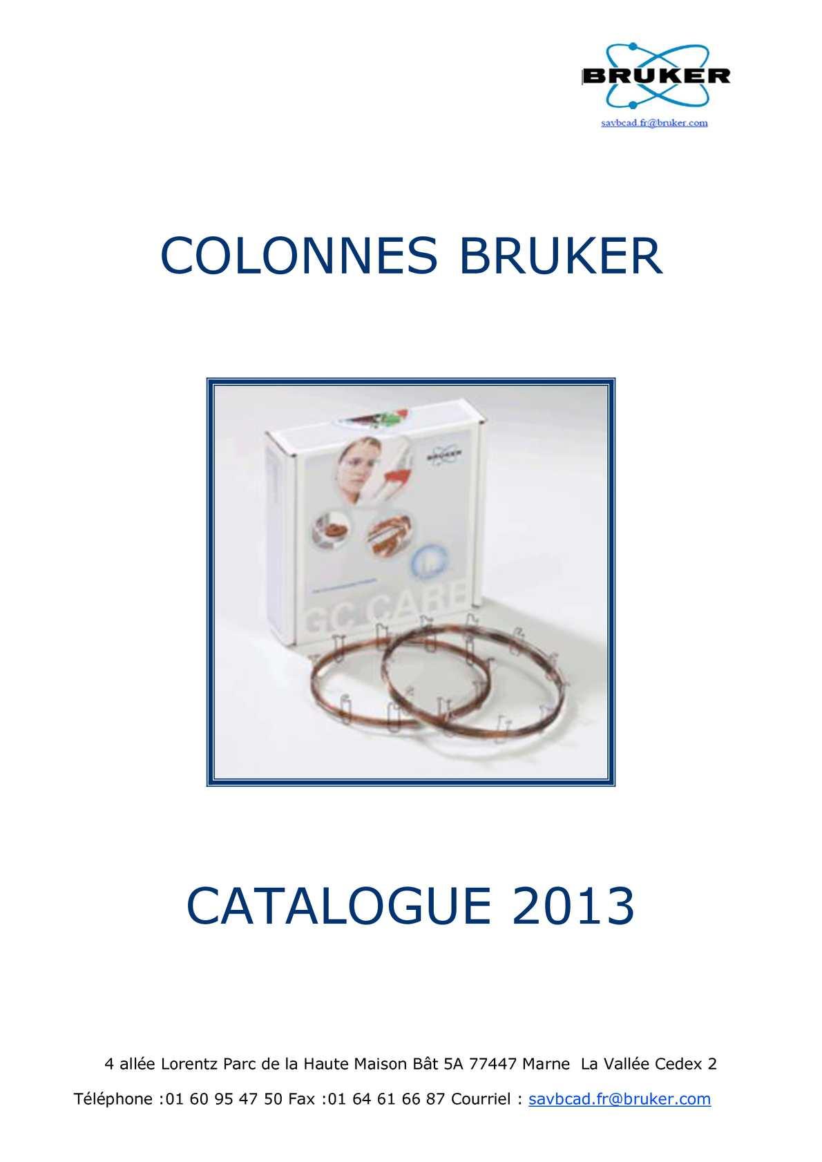 CATALOGUE COLONNES