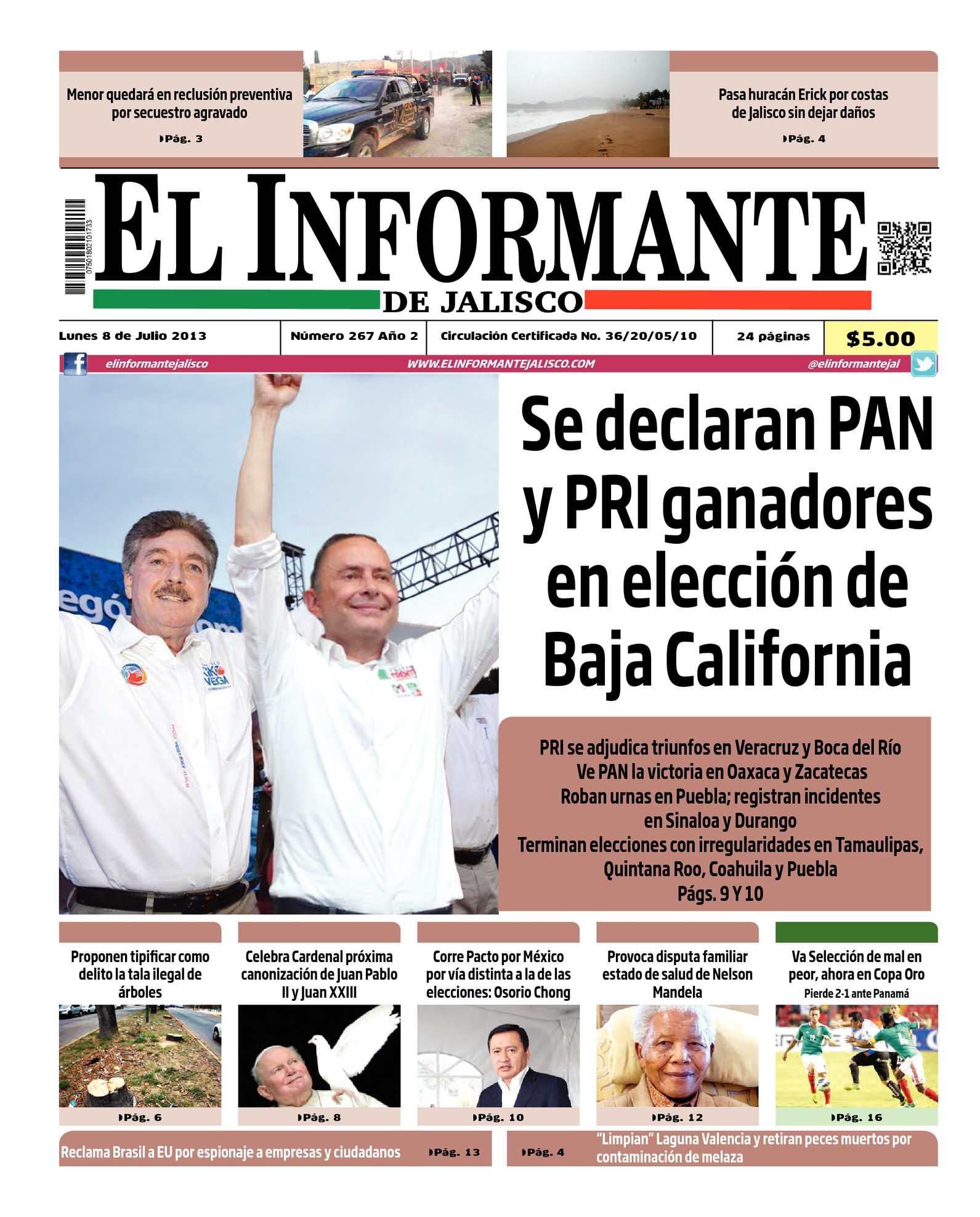 Calaméo - El Informante 8 de julio 2013 e2c2a44a43815