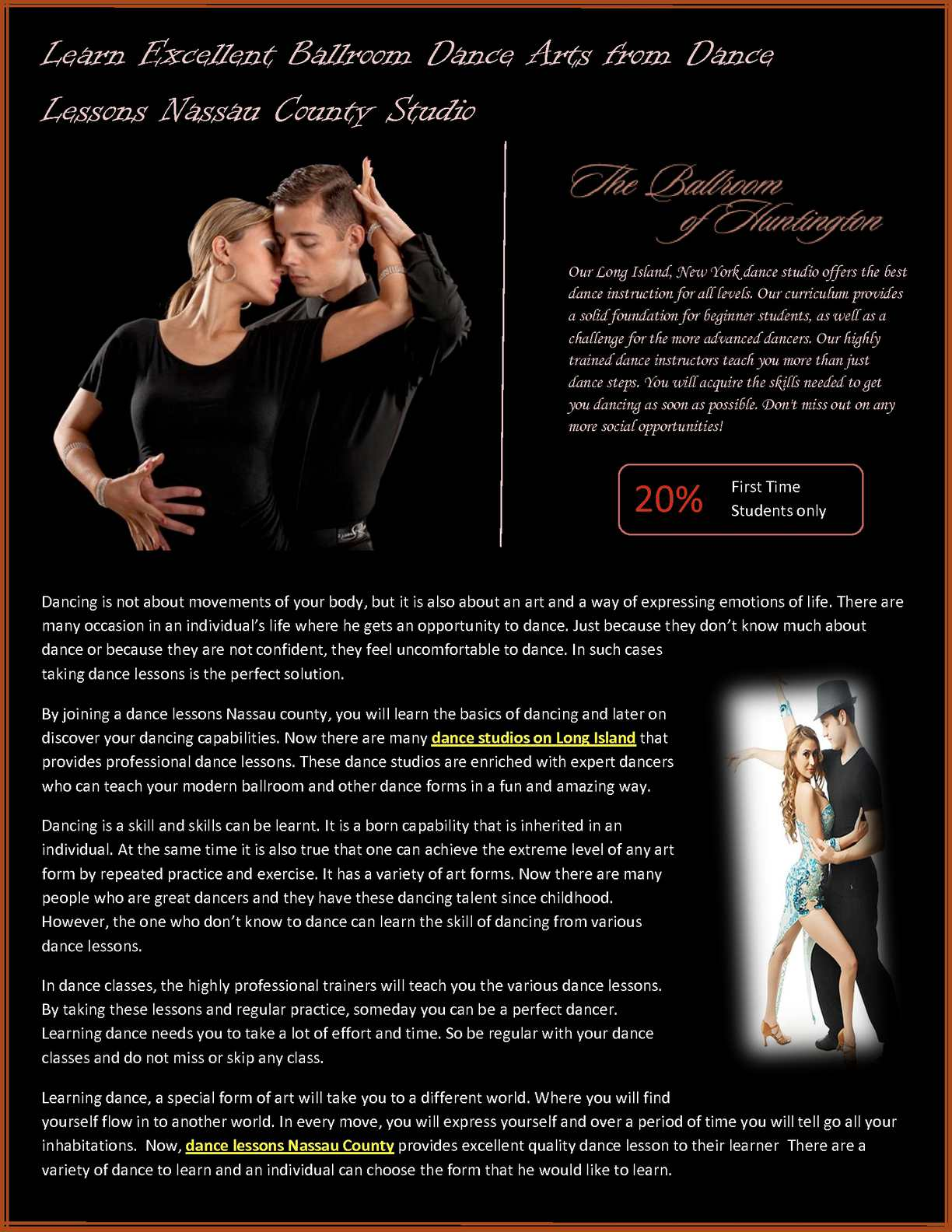 Calaméo - Learn Excellent Ballroom Dance Arts from Dance