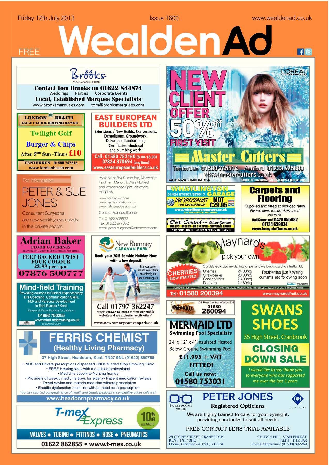 Calaméo - Wealden Advertiser 12 07 2013 ada535976