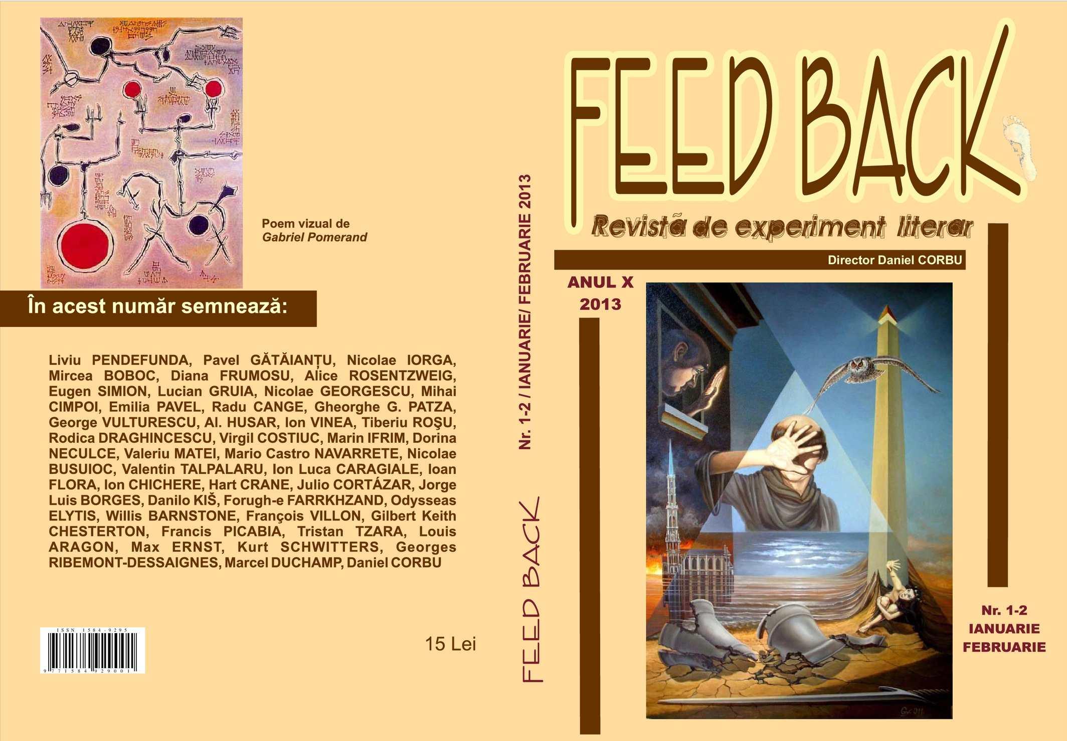 cumpărarea ieftină vânzător en-gros cumpara cel mai bine Calaméo - Revista FEED BACK nr.1-2 2013
