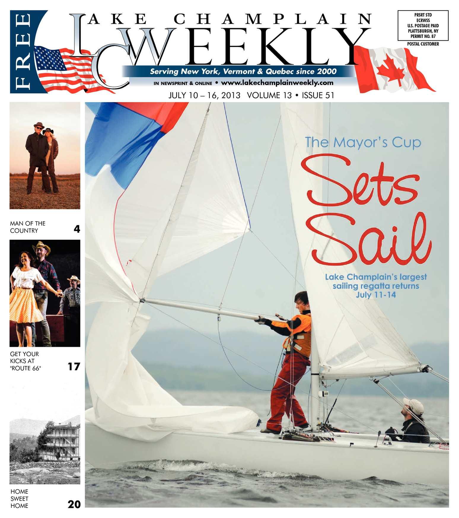 Calaméo - Lake Champlain Weekly | July 10, 2013 - July 16, 2013