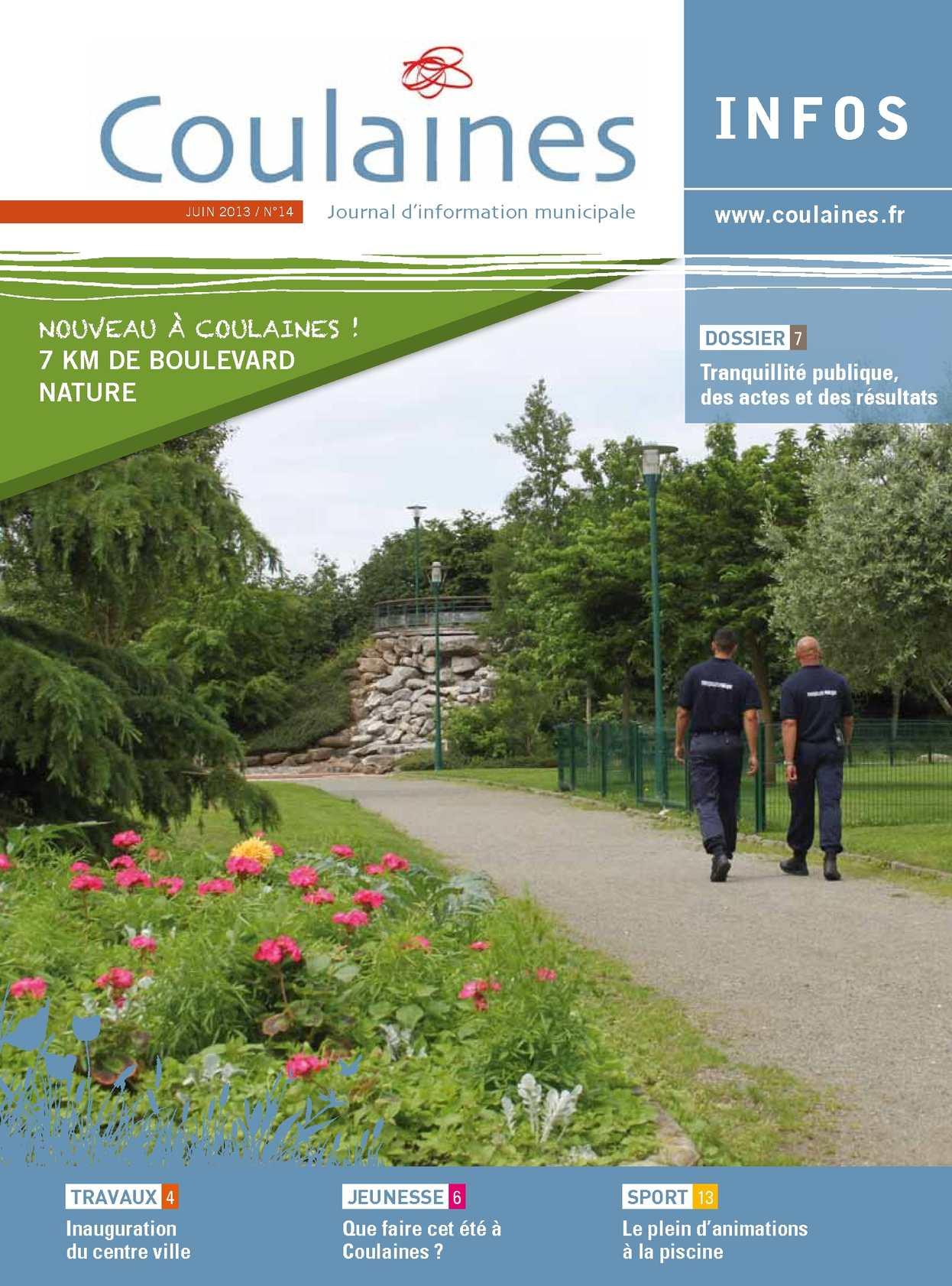Calaméo - Coulaines infos juin 2013