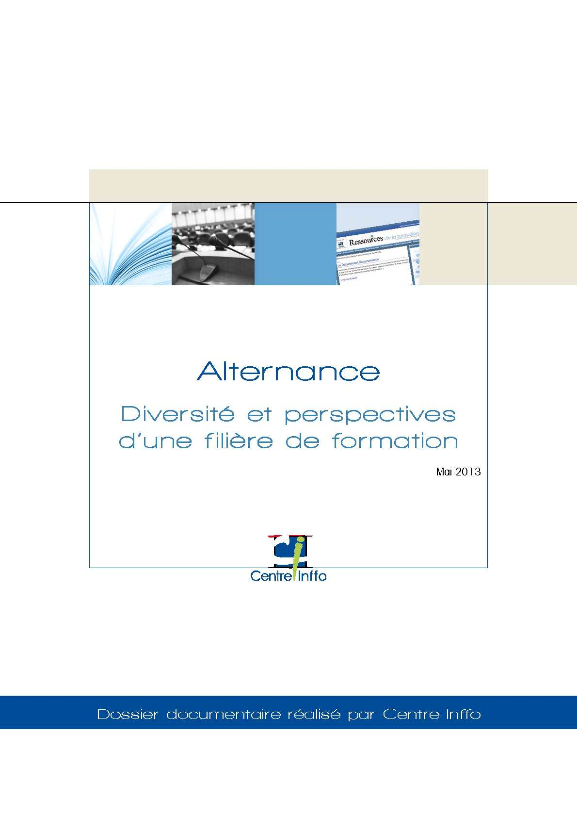 Calameo Alternance Diversite Et Perspectives D Une Filiere De Formation