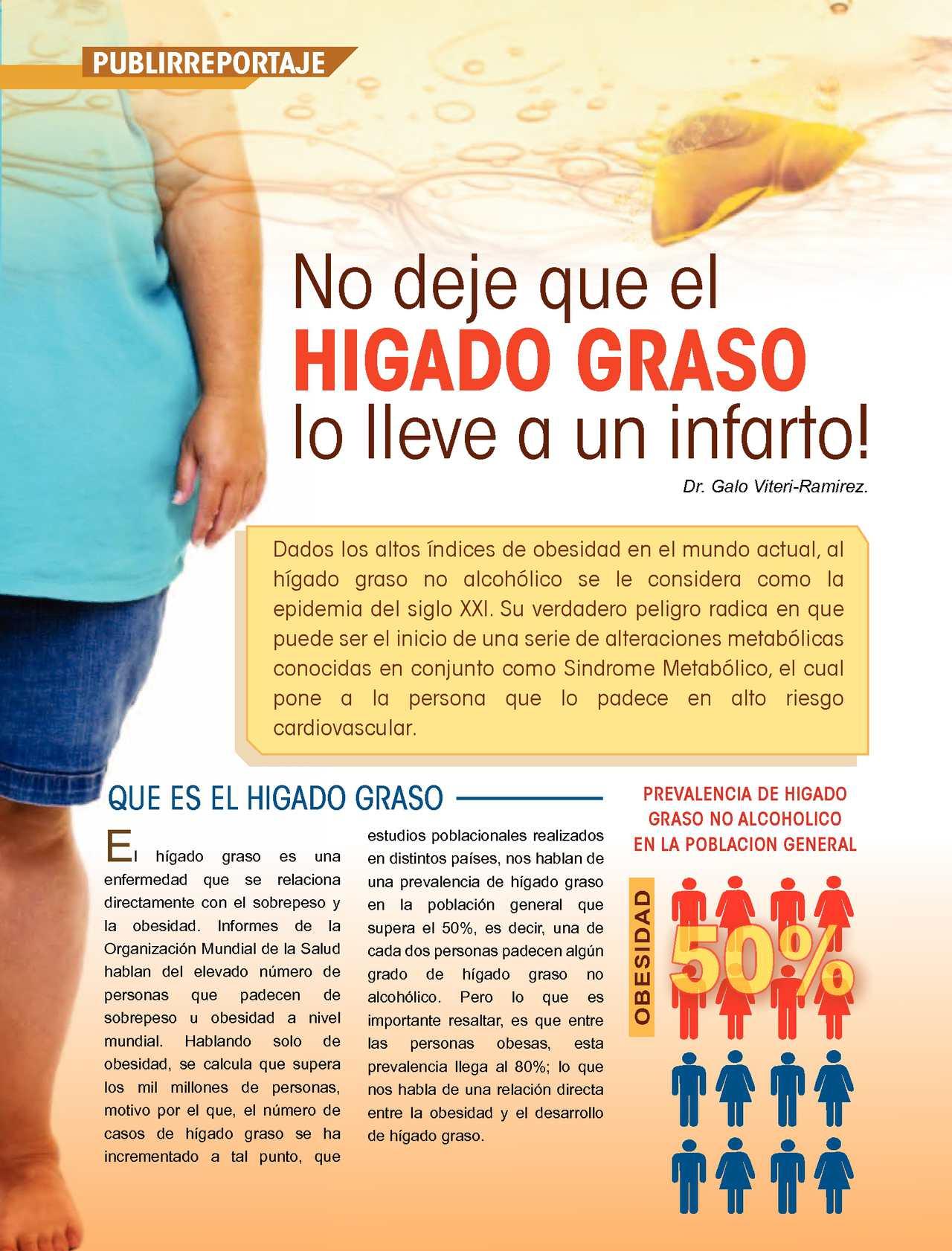 dieta diabetes del hígado graso