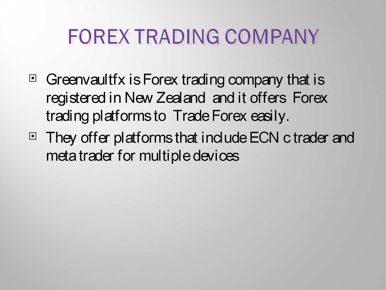 forex trading company in new zealand bitcoin di negoziazione di posizioni corte