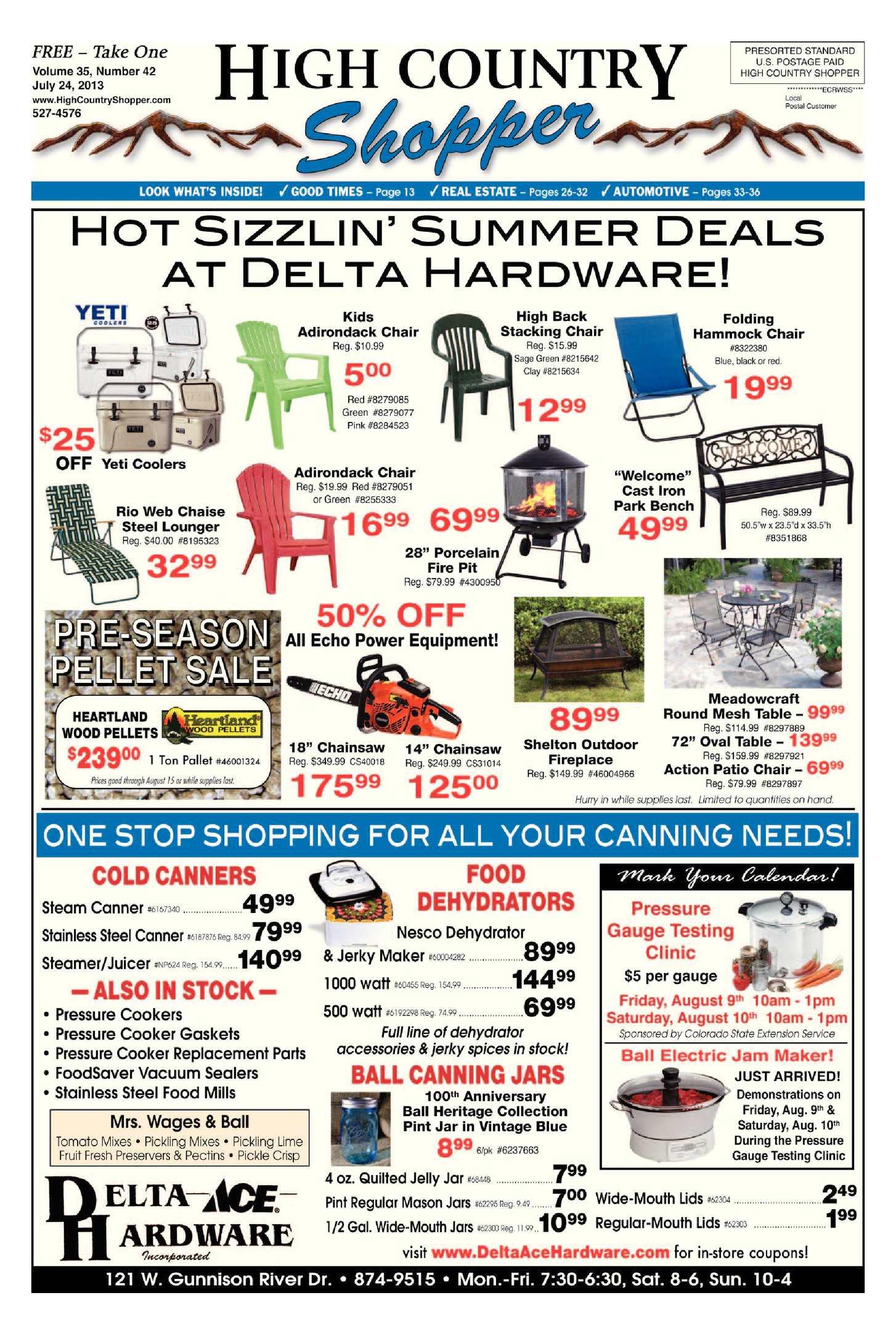 3da11830316 Calaméo - High Country Shopper 7.24.13