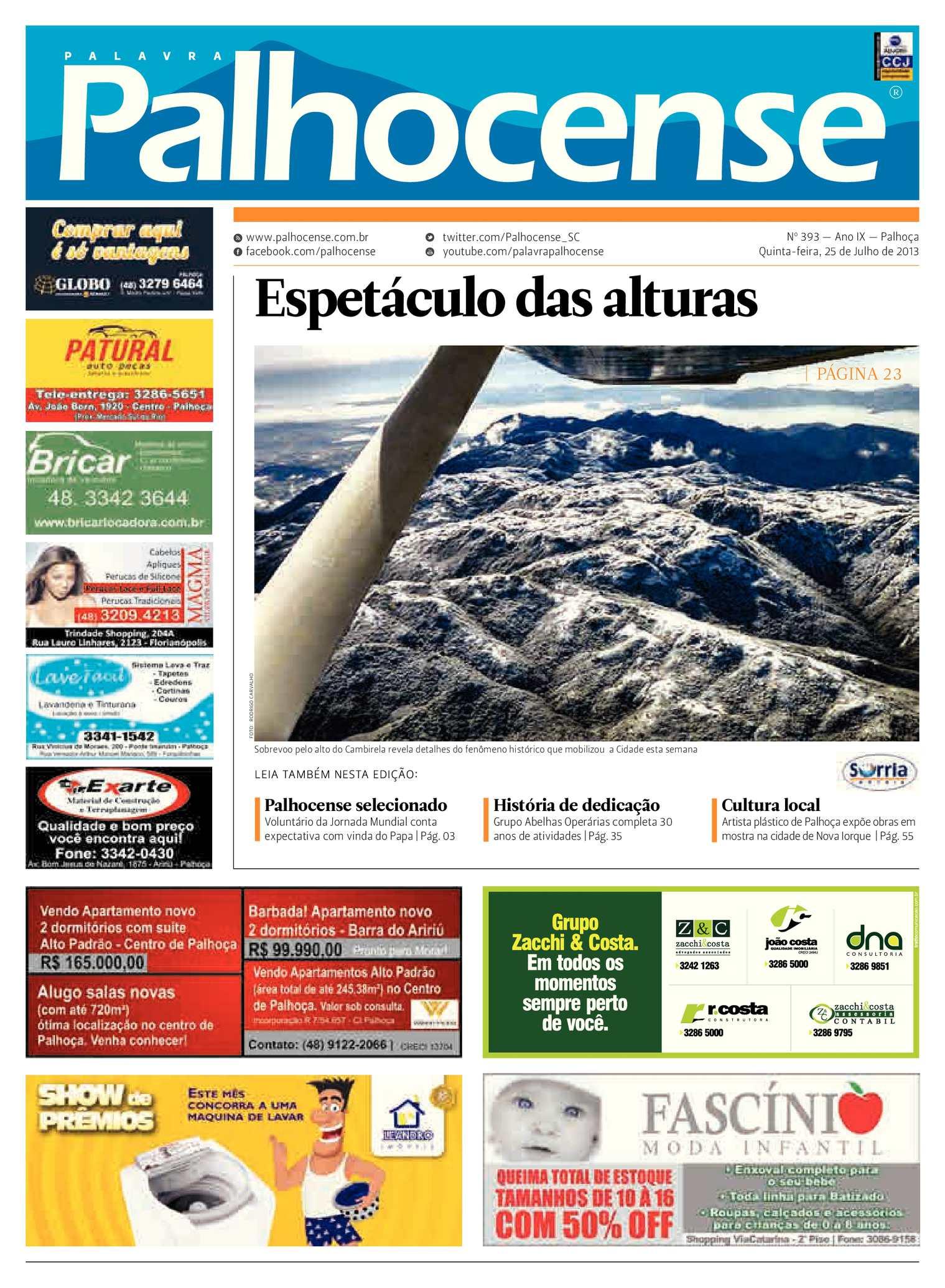Calaméo - Jornal Palavra Palhocense - Edição 393 78e1adeeb93