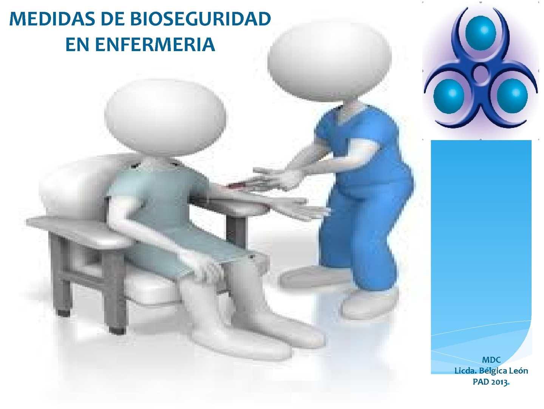 Medidas De Bioseguridad En Enfermeria