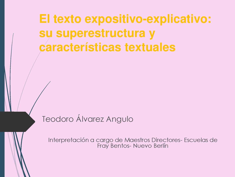 Calaméo El Texto Expositivo Explicativo