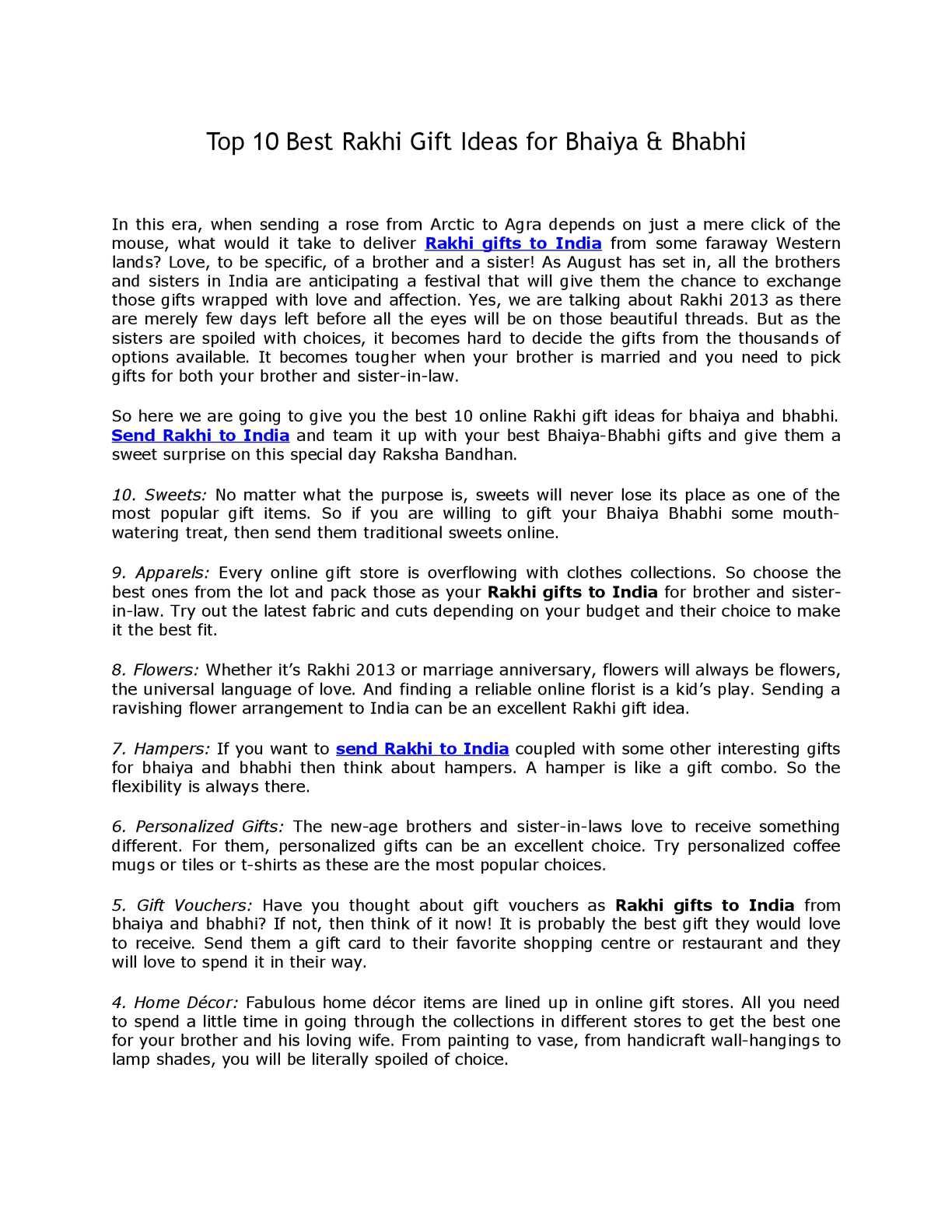 51f34b301448 Calaméo - Top 10 Best Rakhi Gift Ideas for Bhaiya & Bhabhi