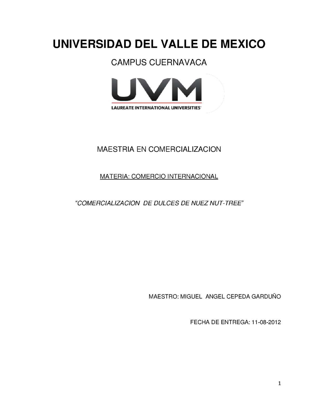 Calaméo - COMERCIALIZACIÓN DE DULCES