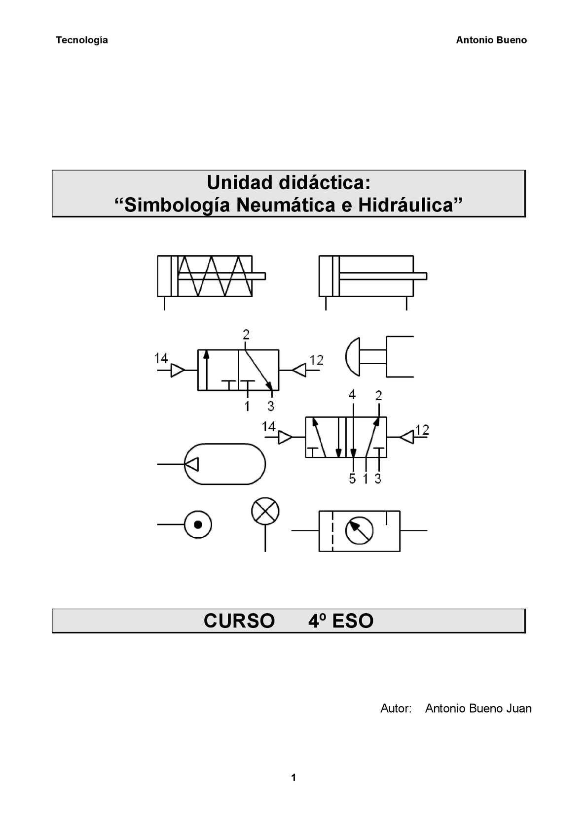 Curso de hidráulica y neumática pdf