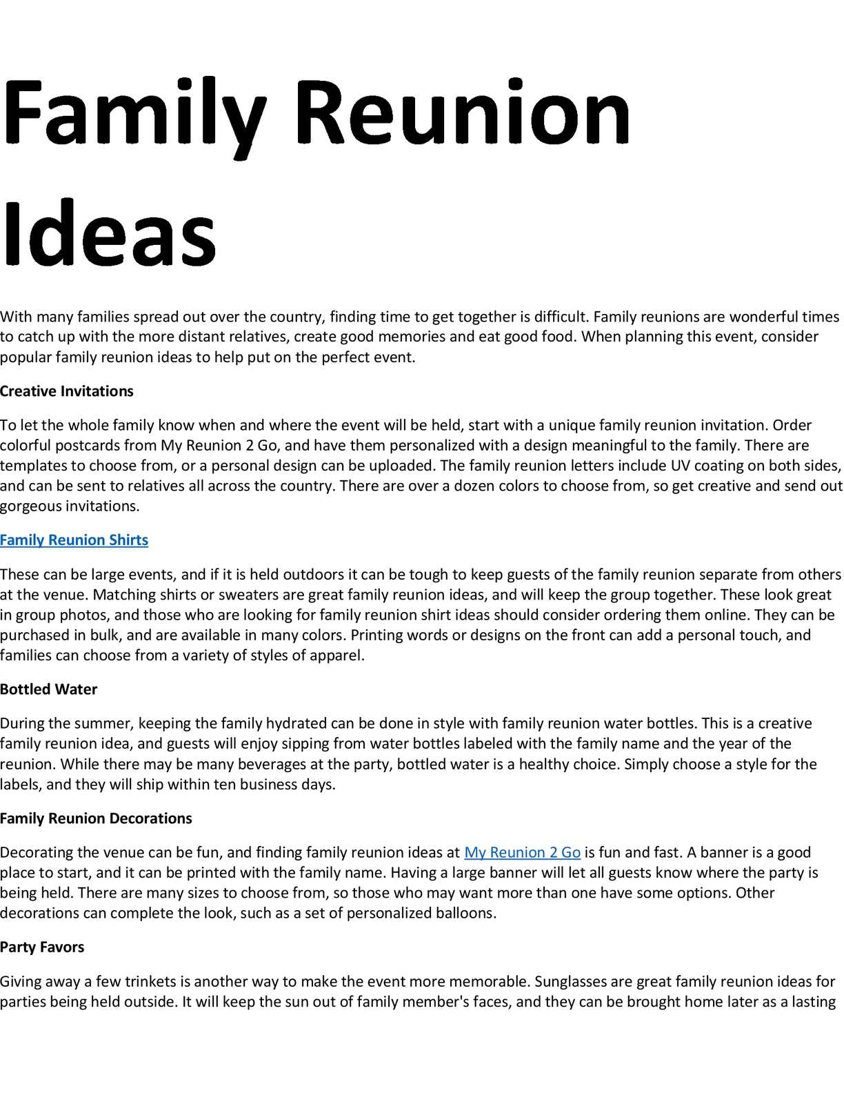 Family Reunion Ideas >> Calameo Family Reunion Ideas