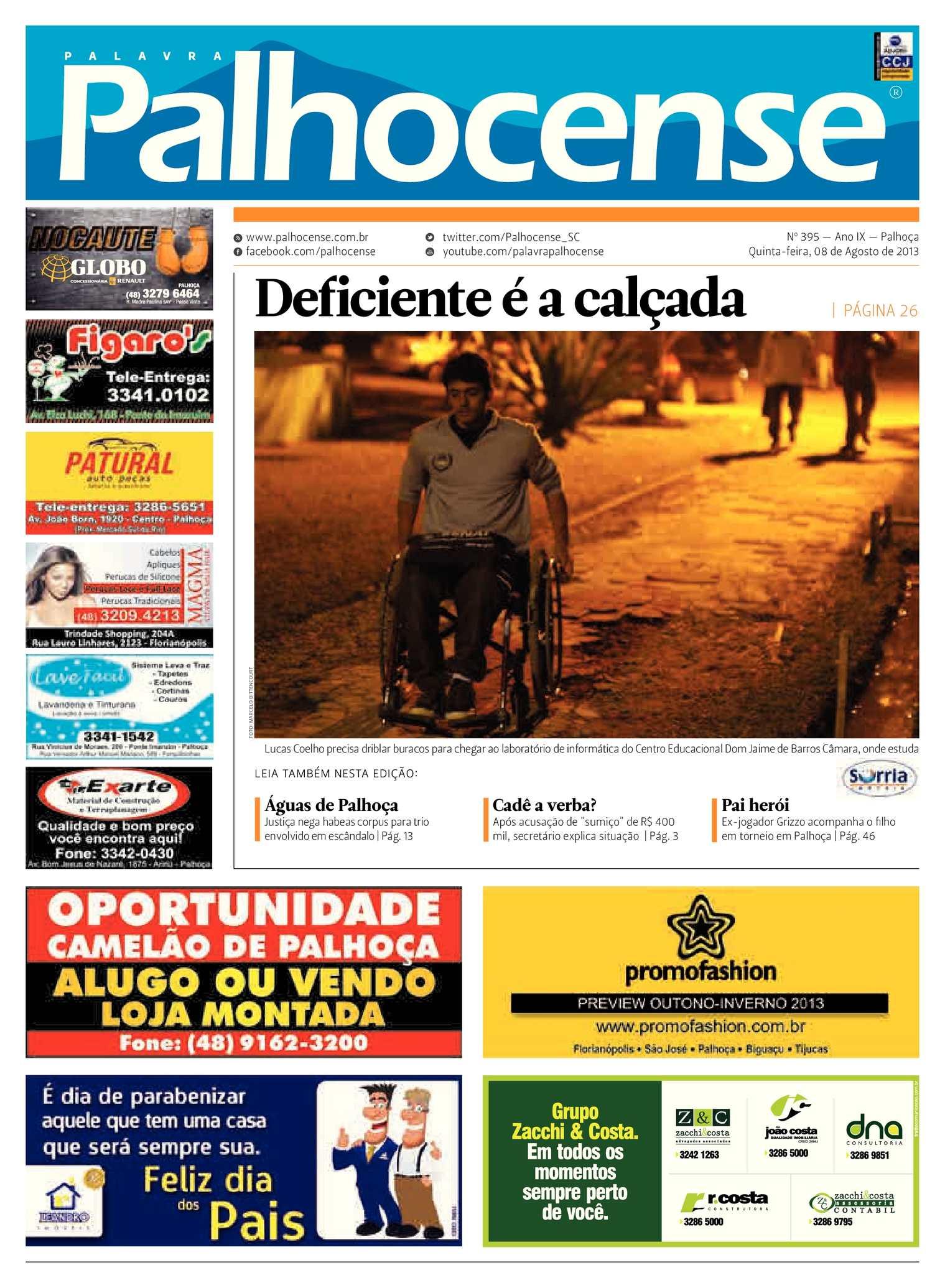 Calaméo - Jornal Palavra Palhocense - Edição 395 4038a360385