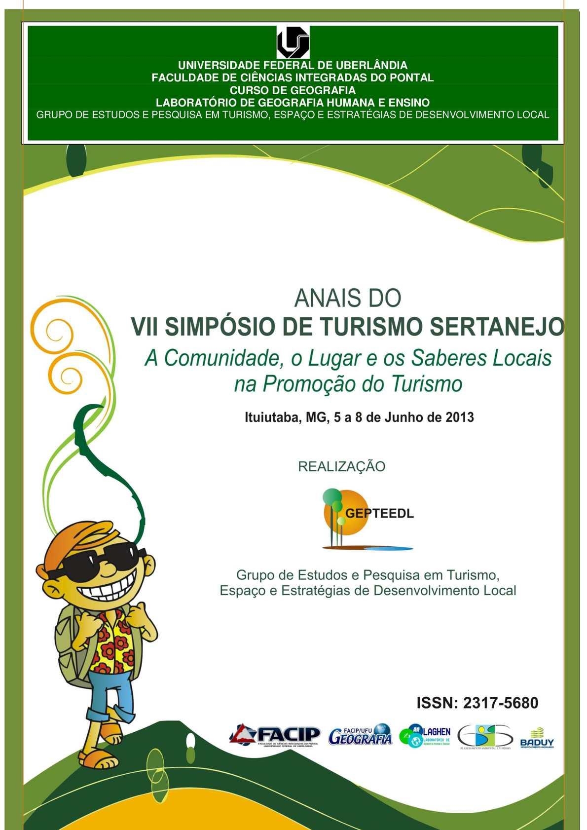 Calaméo - Anais do VII Simpósio de Turismo Sertanejo 4258f07d8213d