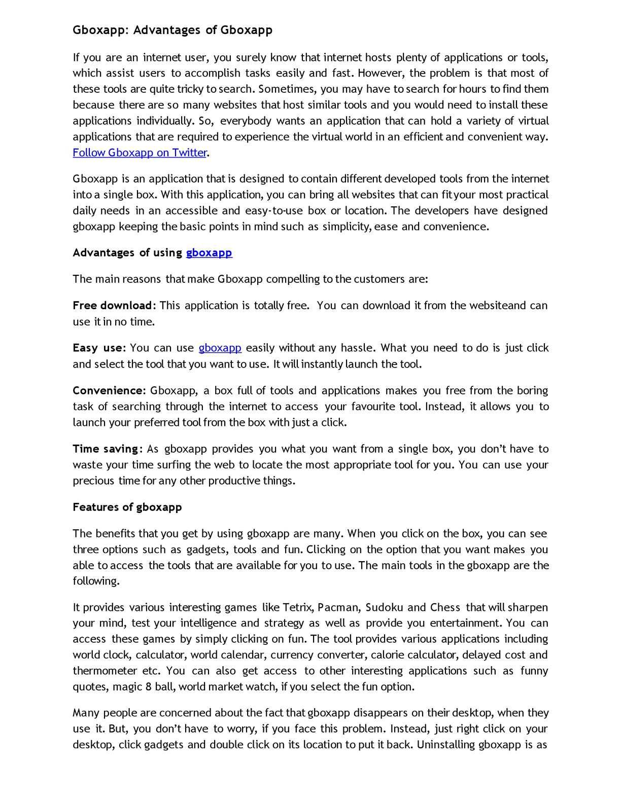Calaméo - Gboxapp: Advantages of Gboxapp