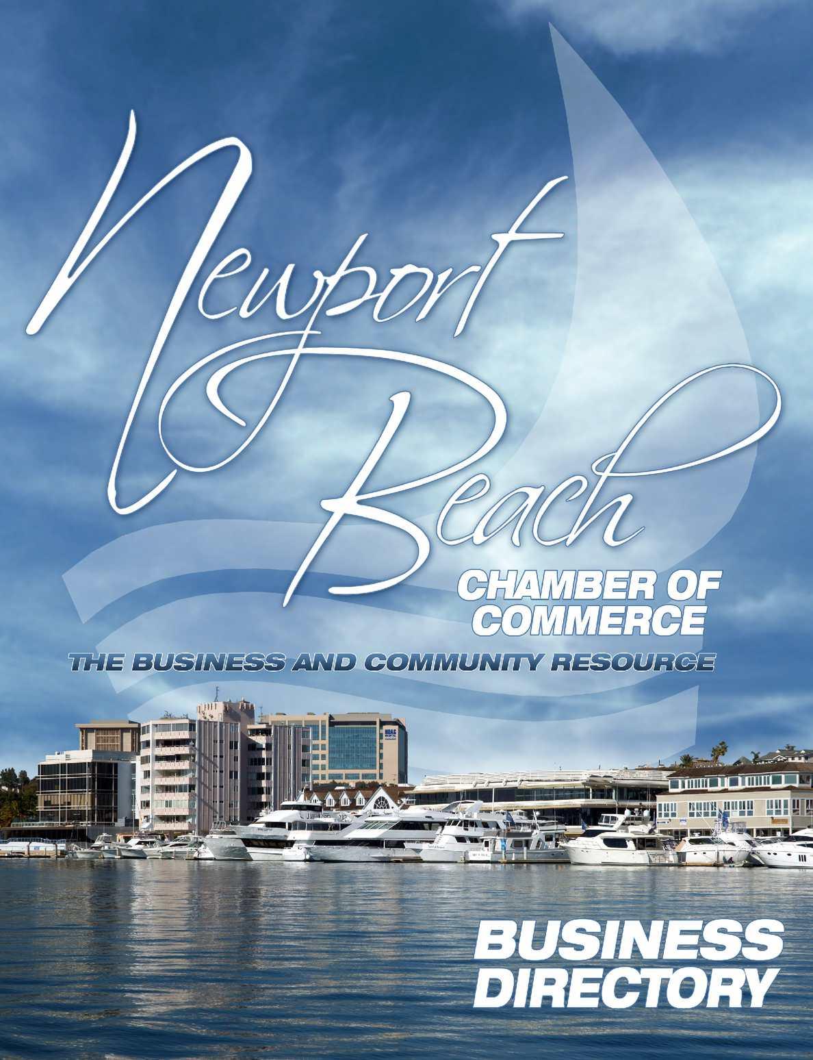 Calaméo - Newport Beach Chamber of Commerce Digital Directory