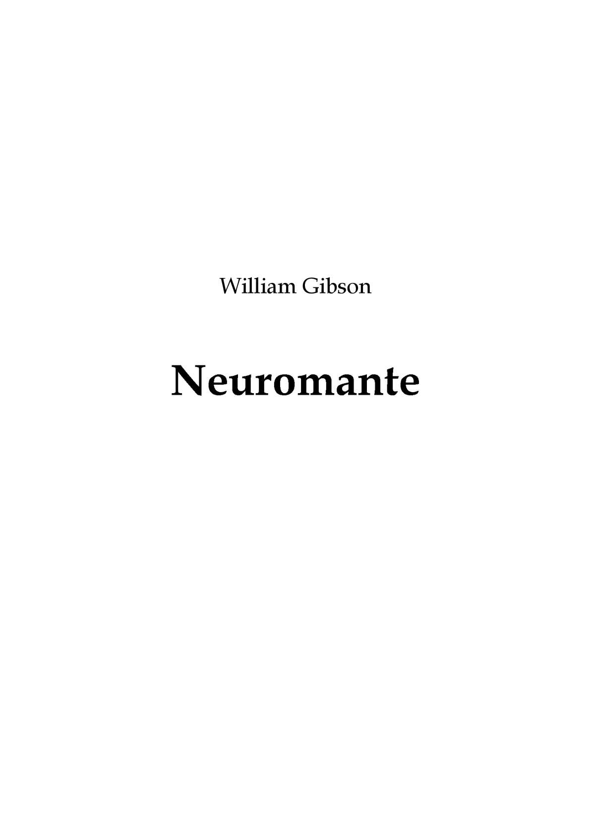 Calaméo - William Gibson  neuromante 3428e735421
