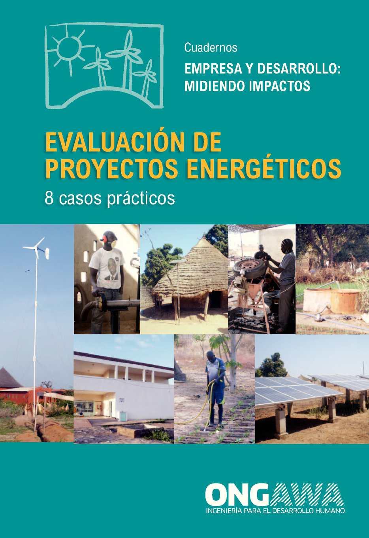 Evaluación de proyectos energéticos: 8 casos prácticos