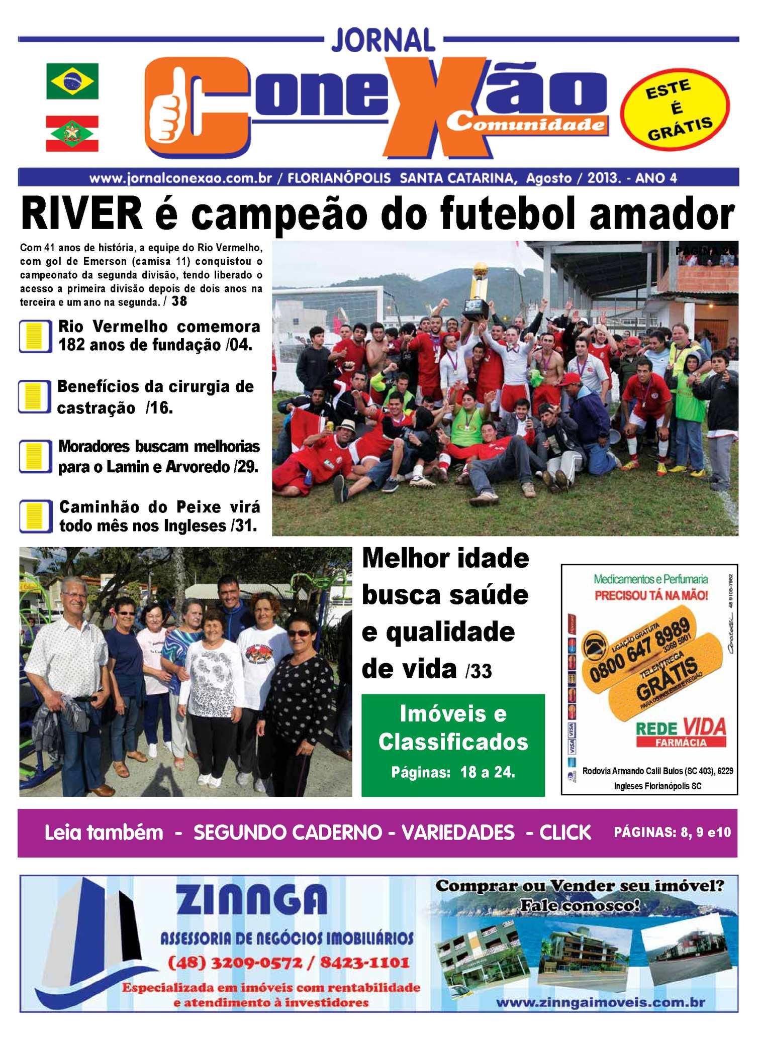 Calaméo - JORNAL CONEXÃO COMUNIDADE AGOSTO 2013 2f920ece110f6