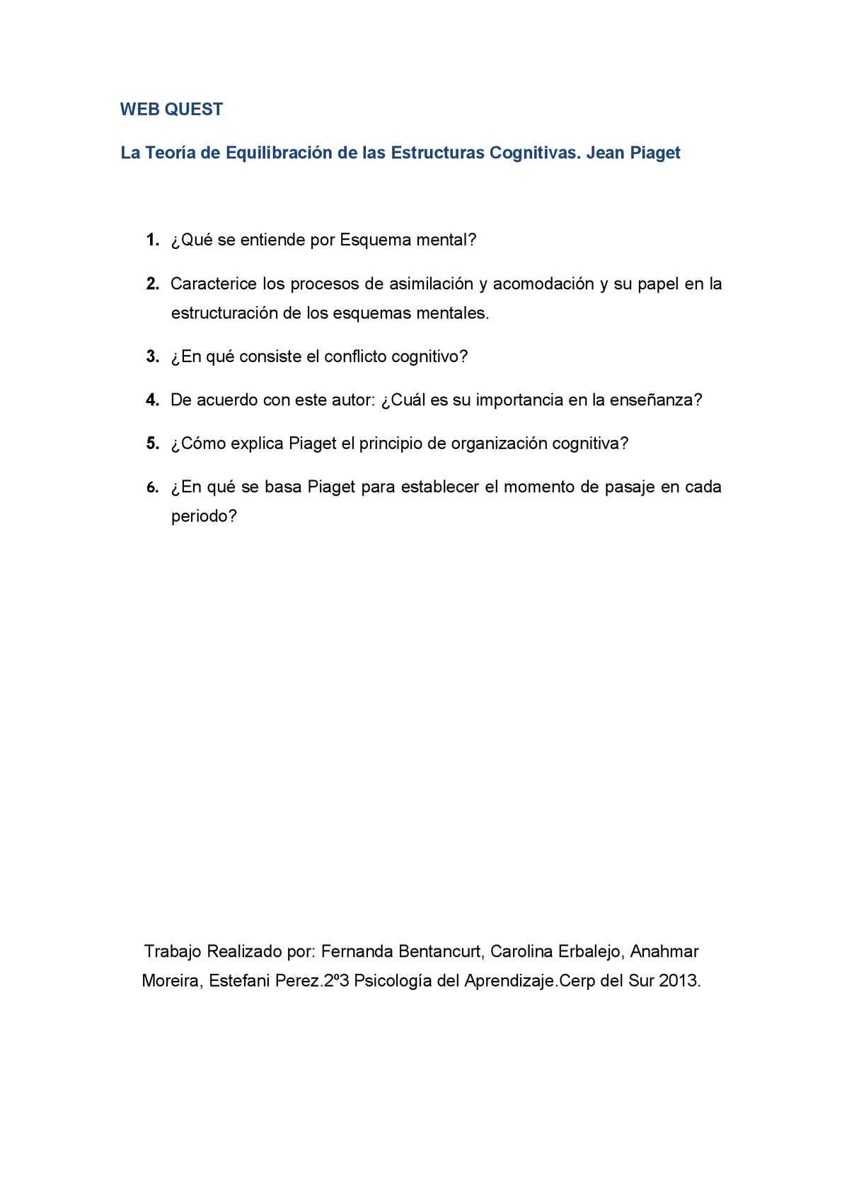 Calaméo La Teoría De Equilibración De Las Estructuras