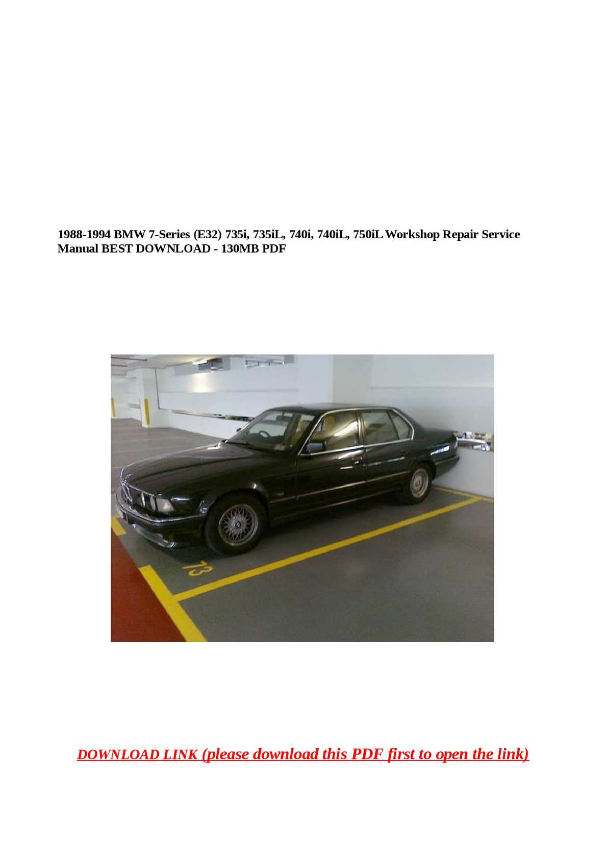 1990 Bmw 735i Stereo Wiring Diagram ...