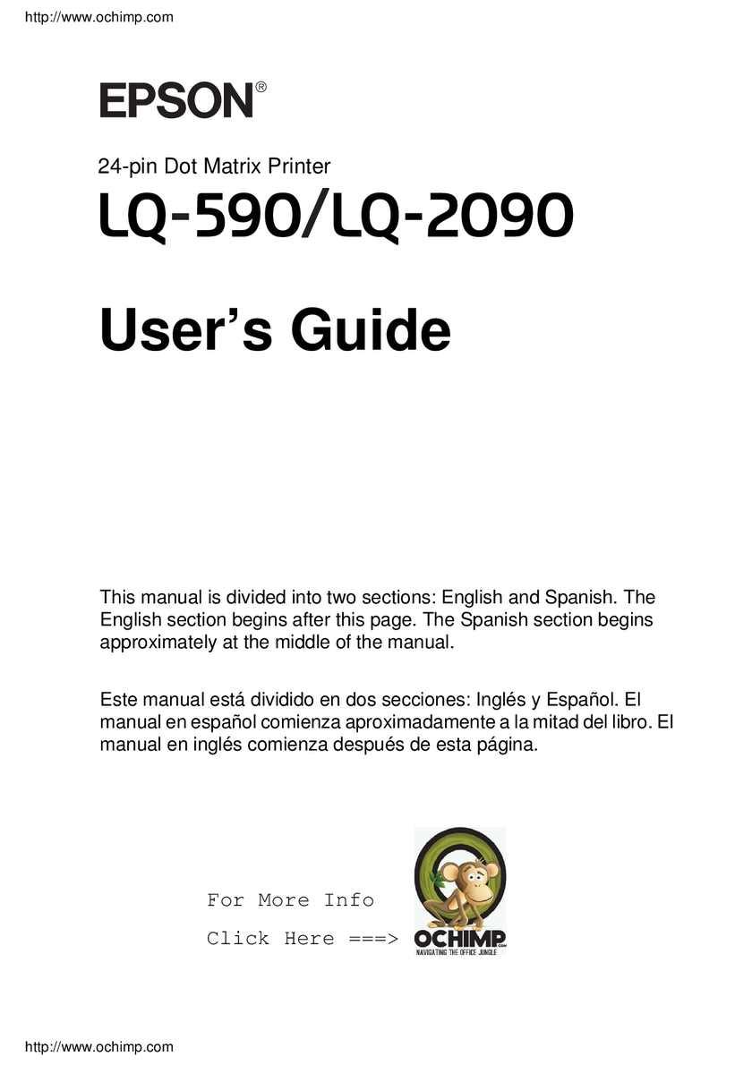 epson lq 2550 technical manual