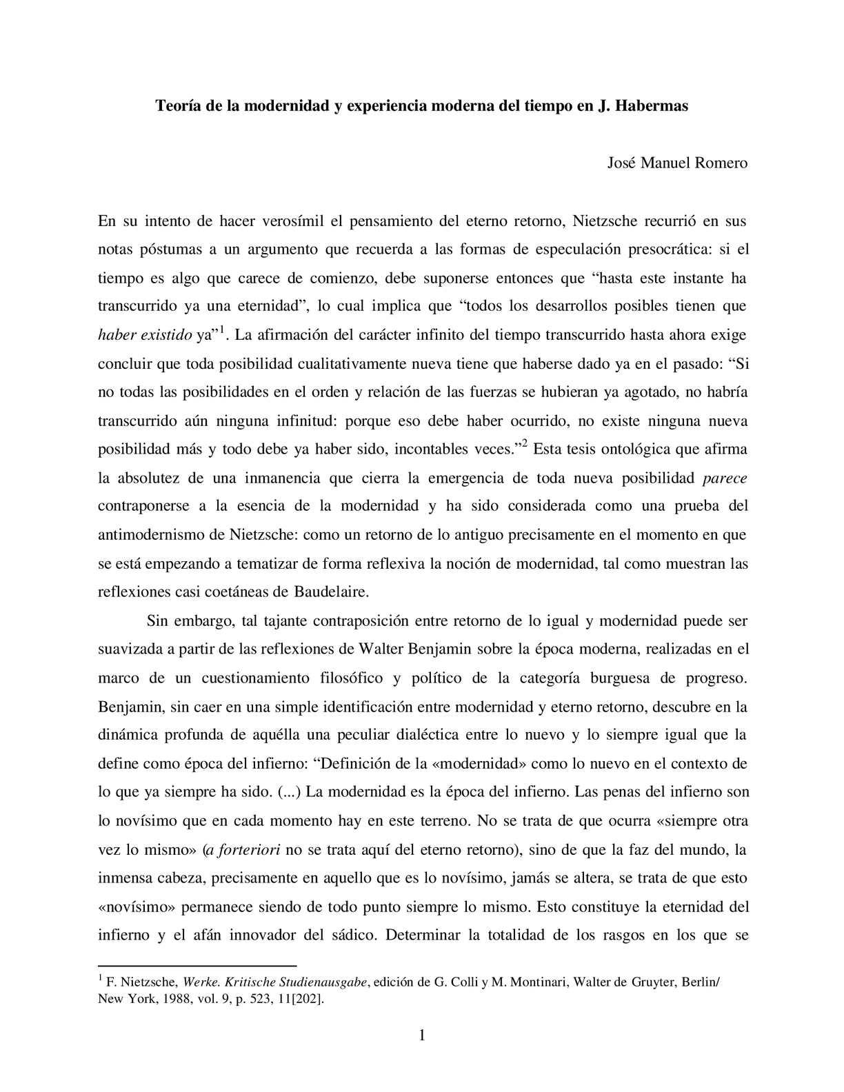 MODERNIDAD DEFINICION PDF DOWNLOAD