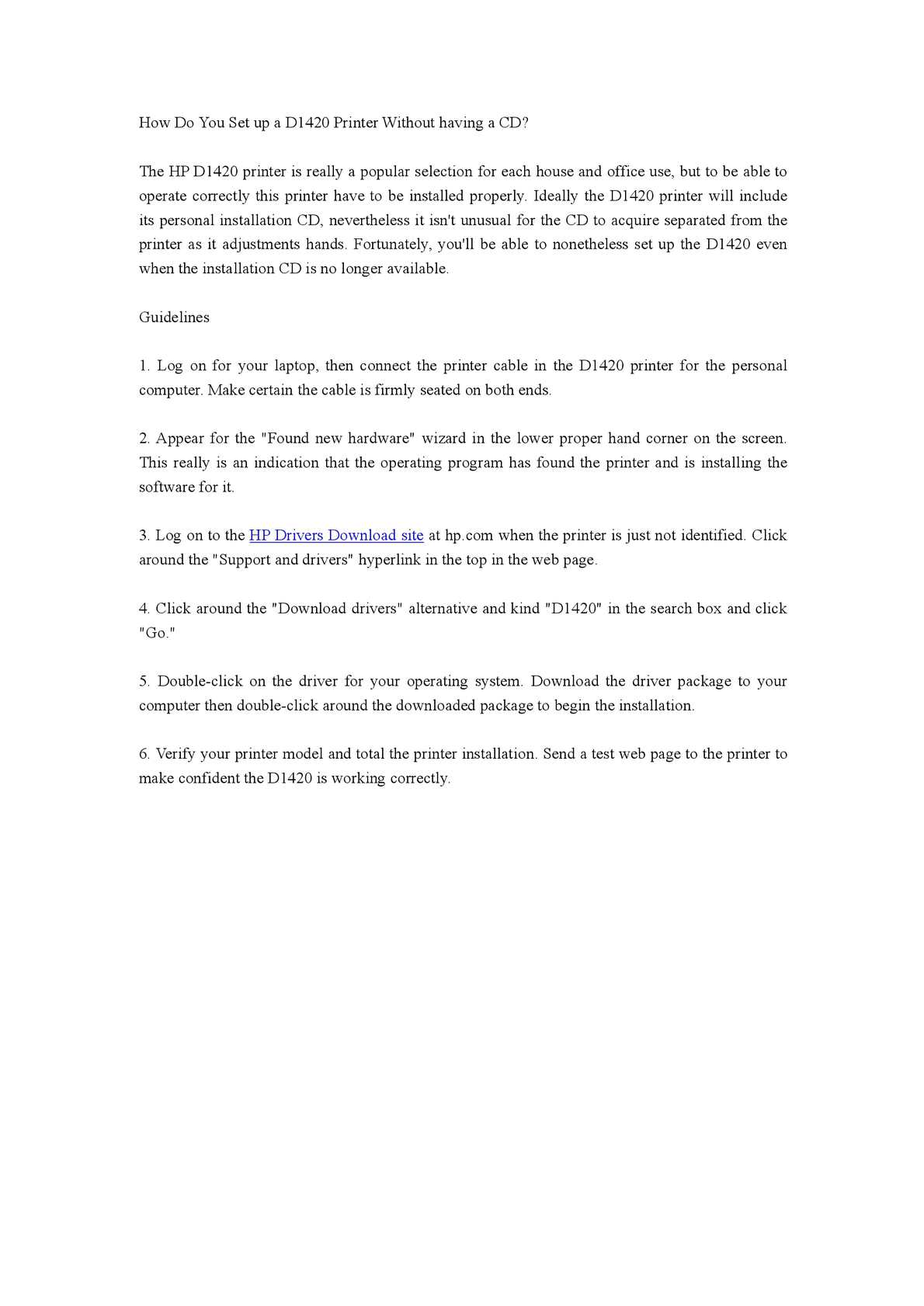 Tips for down hp deskjet d1420 lazer printer installer.