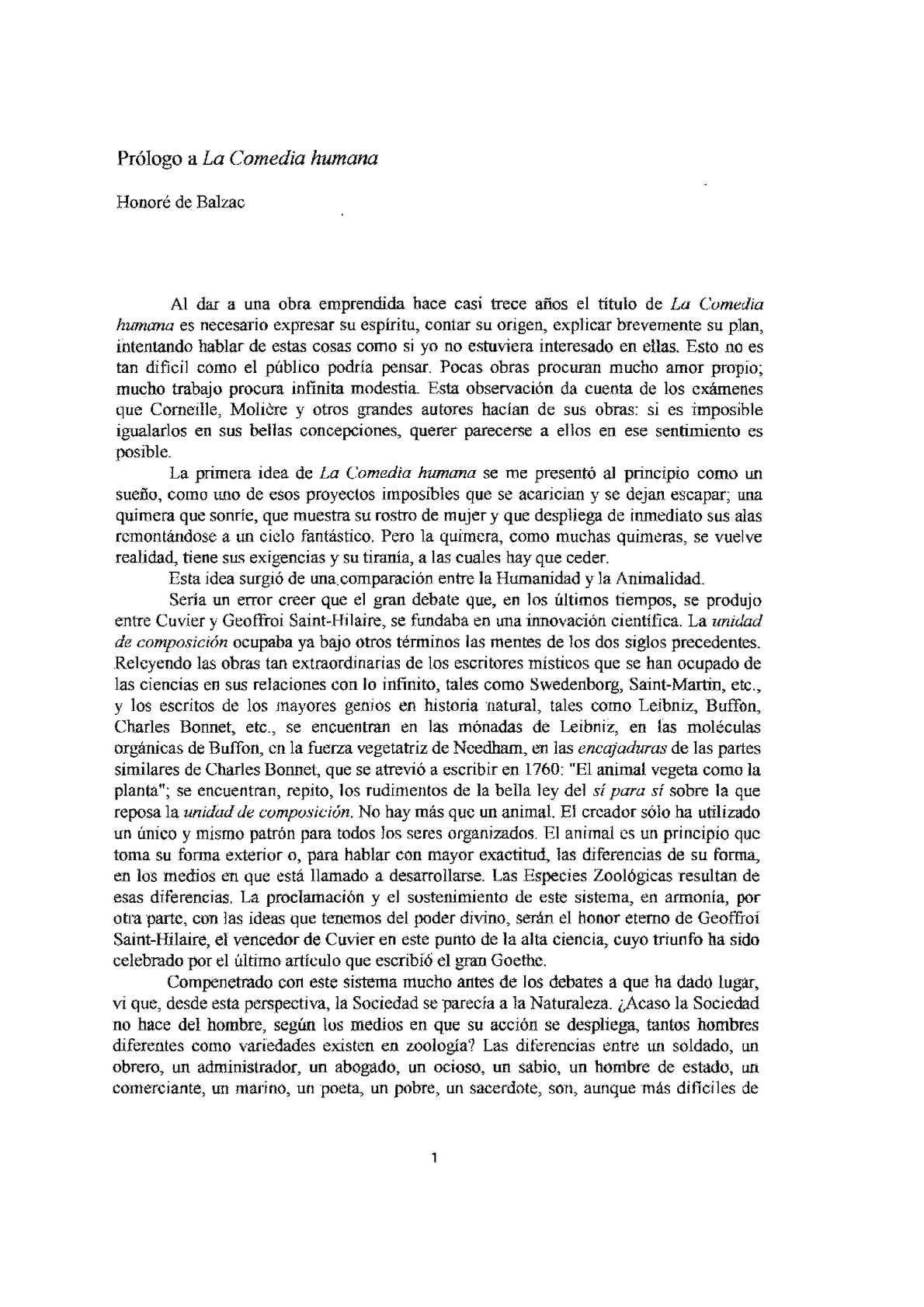 A Comedia Humana Balzac Pdf