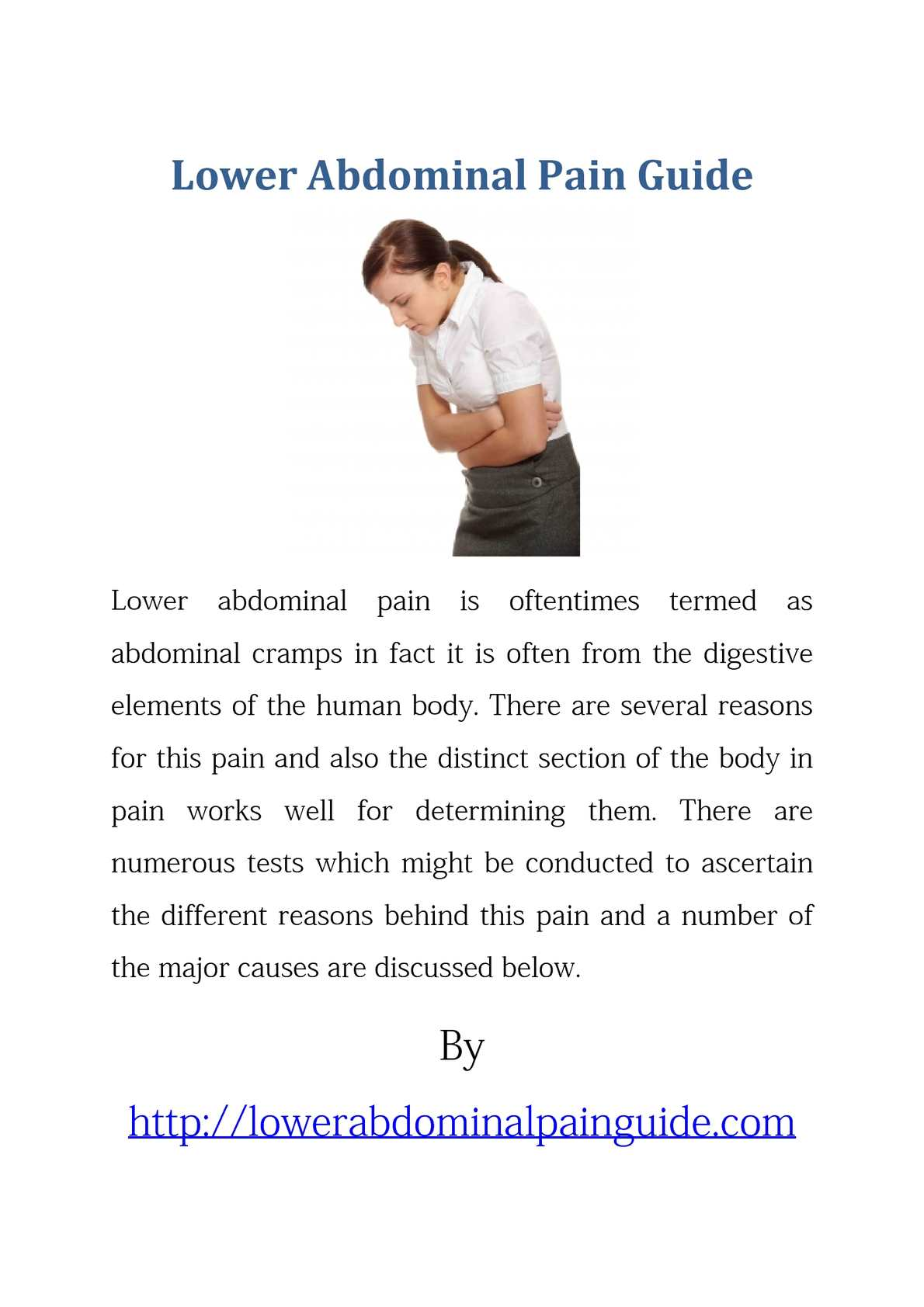 Calameo Lower Abdominal Pain