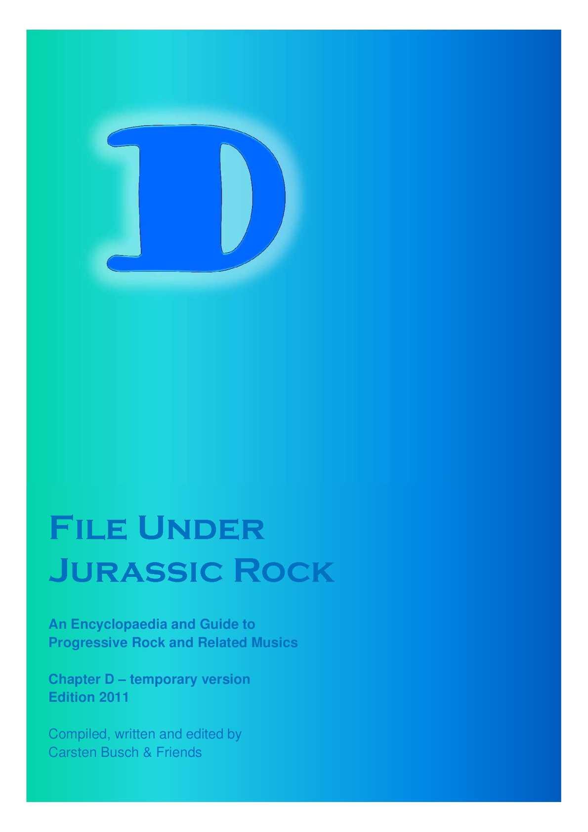 Calaméo - File Under Jurassic Rock - D temporary (2011) da4018e50f