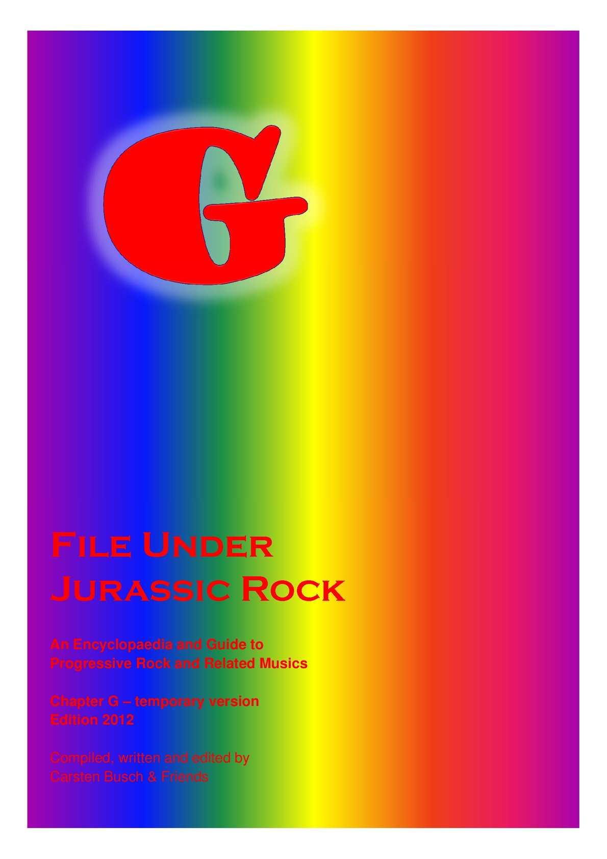 09afb981c1 Calaméo - File Under Jurassic Rock - G temporary (2012)
