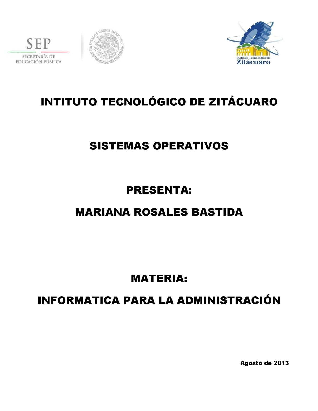 Calaméo - Sistema Operativo