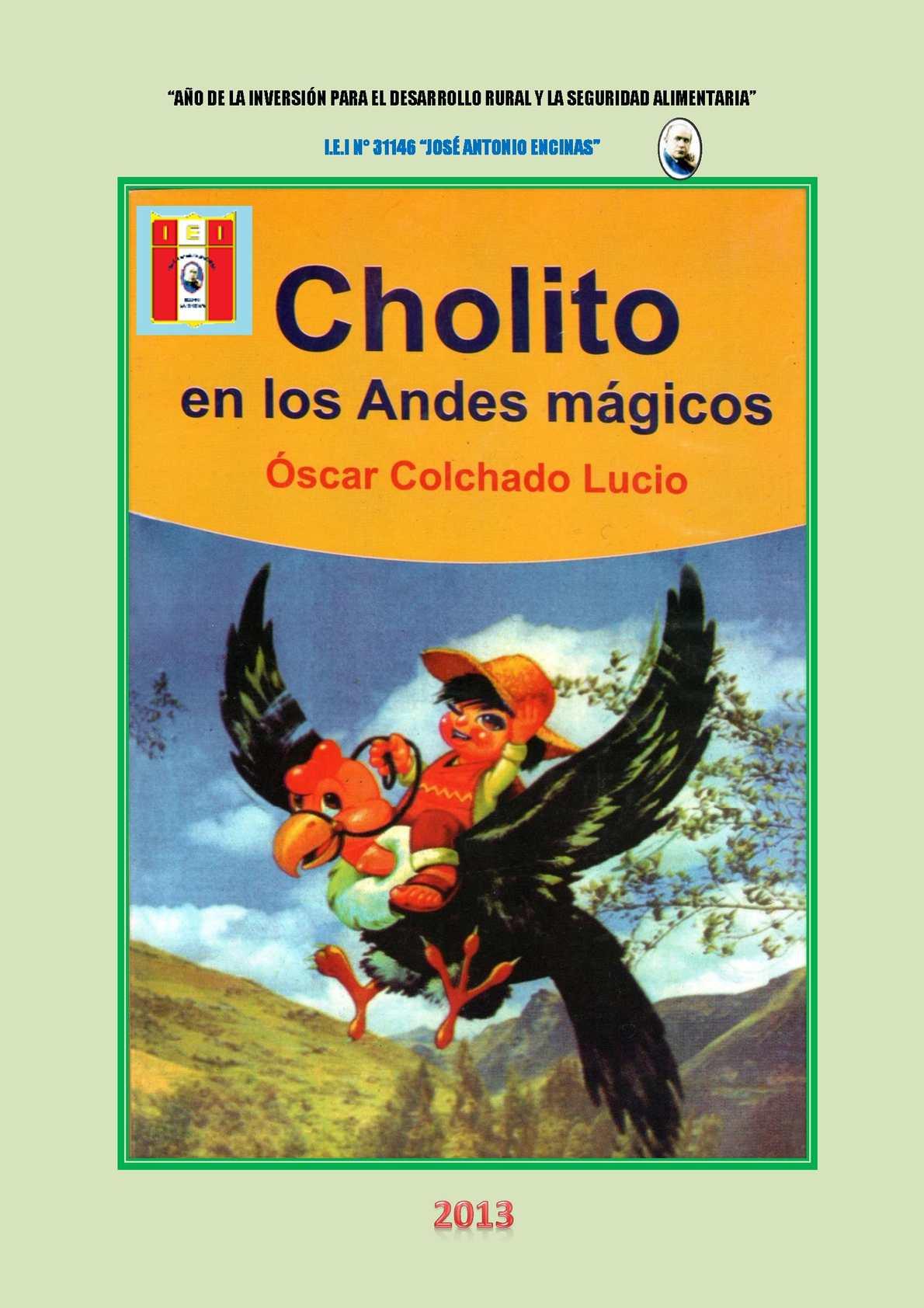 Calaméo - CHOLITO EN LOS ANDES MÁGICOS
