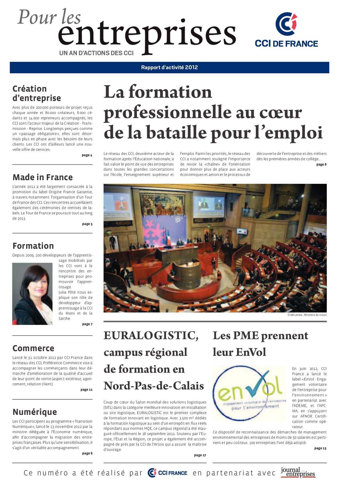 4cd5b64b091289 Calaméo - RAPPORT ANNUEL D ACTIVITES DU RESEAU CCI FRANCE