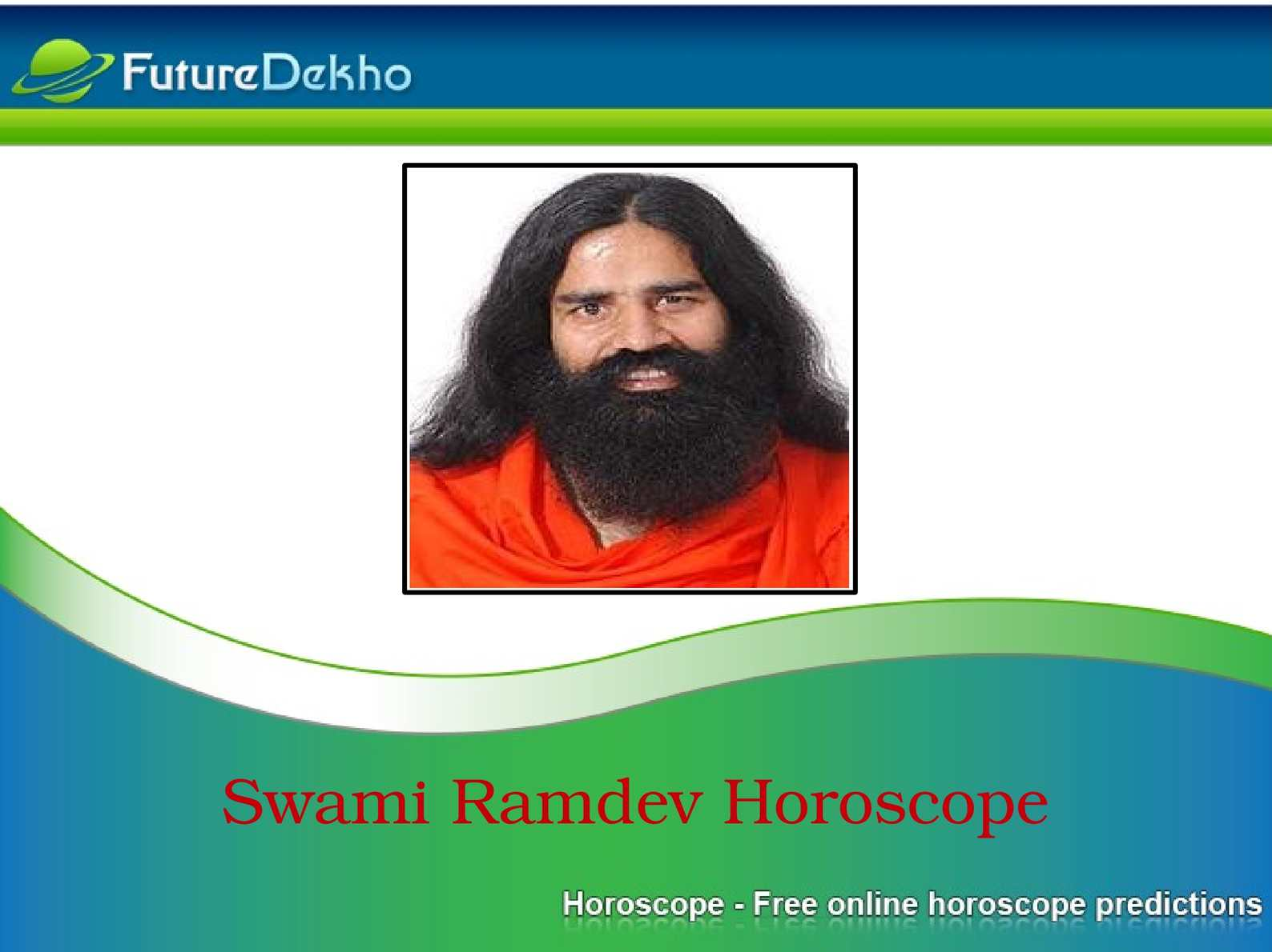 Calaméo   Know More About Swami Ramdev Horoscope